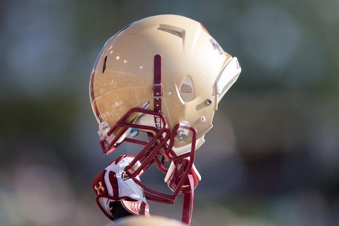 Boston College Helmet