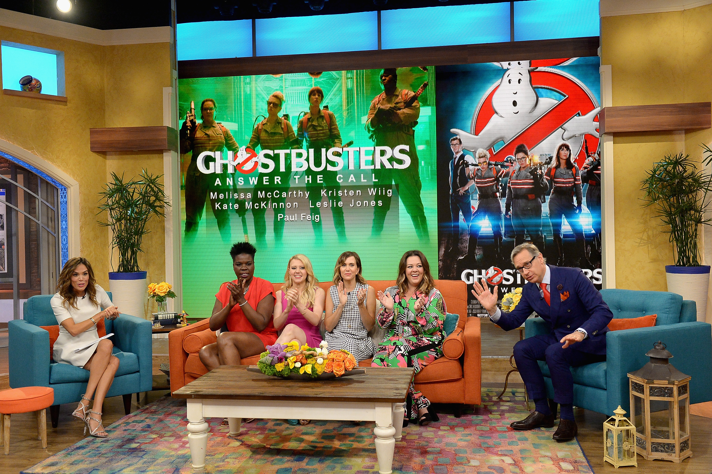 Celebrities On The Set Of Univision's 'Despierta America'