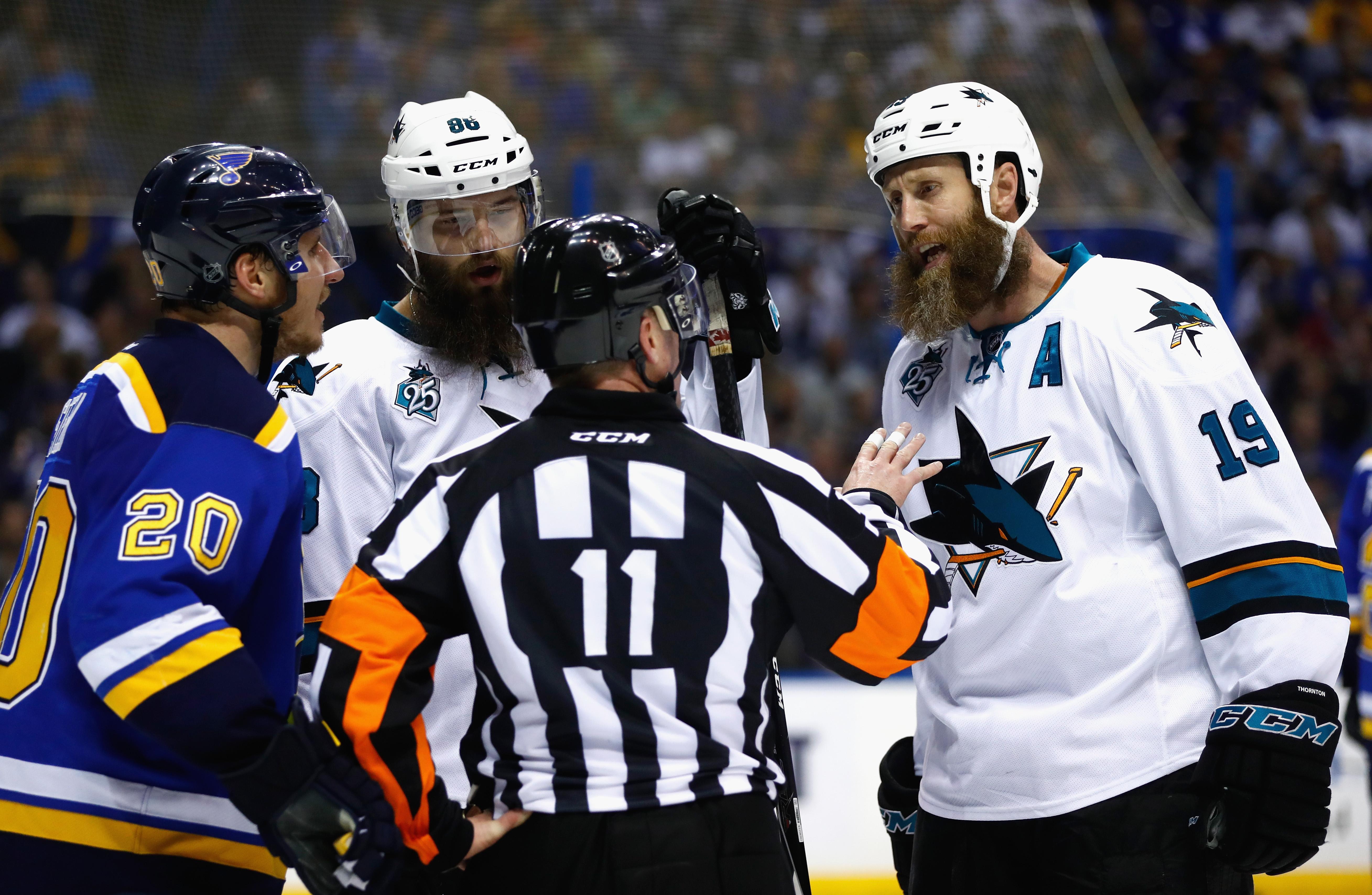 San Jose Sharks v St Louis Blues - Game Five
