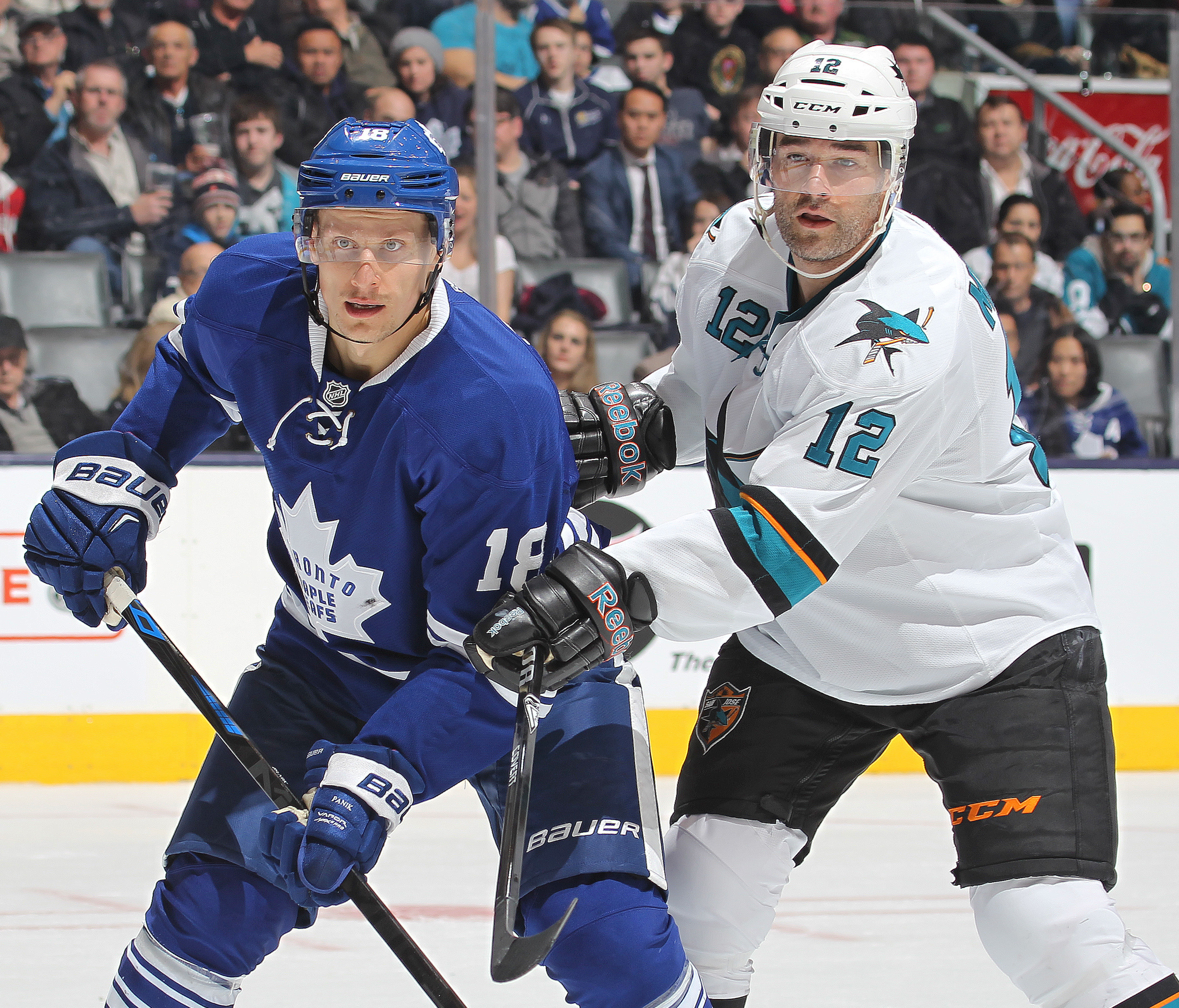 San Jose Sharks v Toronto Maple Leafs
