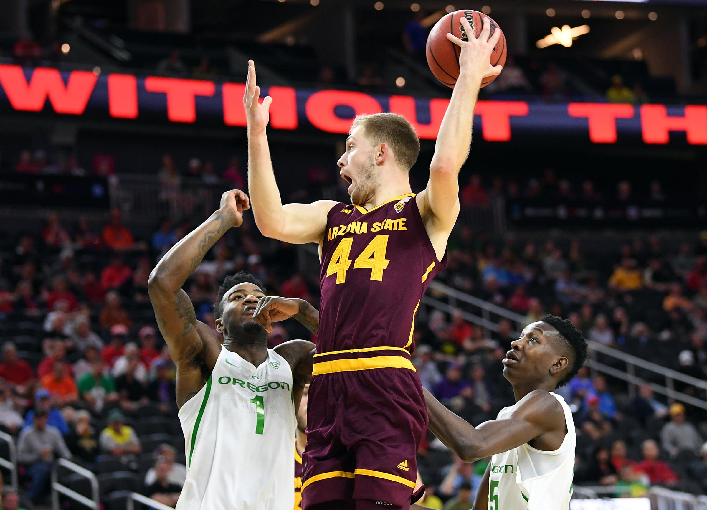 NCAA Basketball: Pac-12 Conference Tournament Arizona State vs Oregon