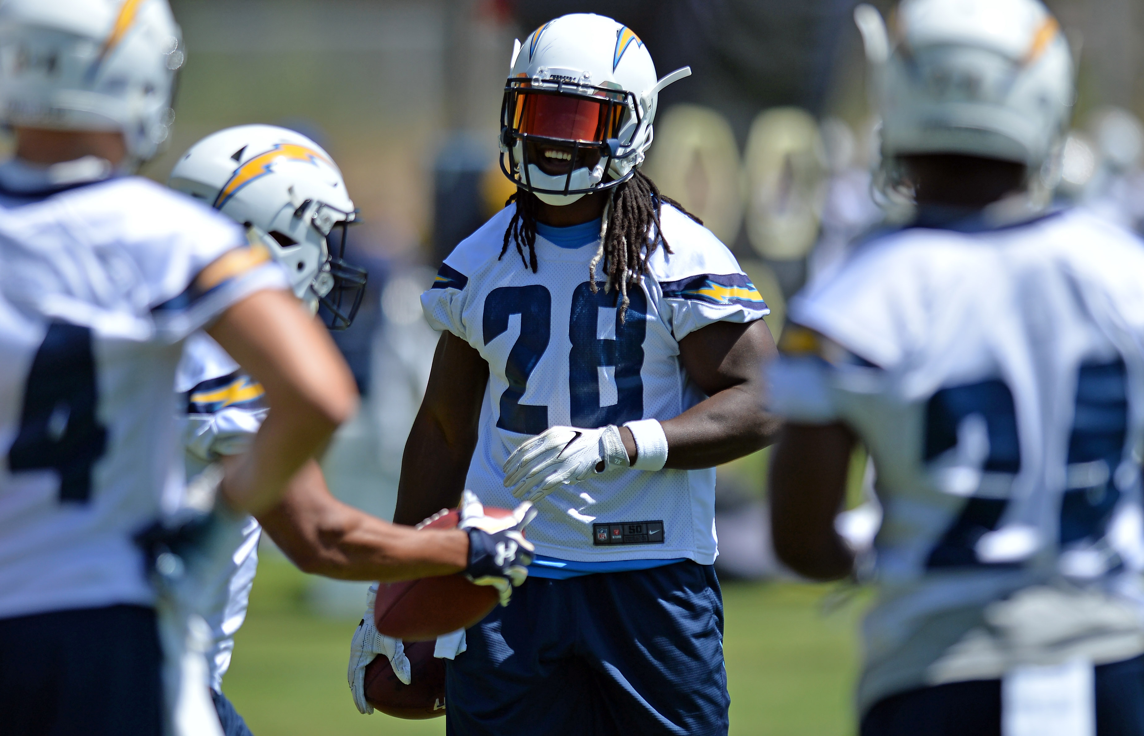 f1478d470 Melvin Gordon Works With Footwork King During Offseason Training .