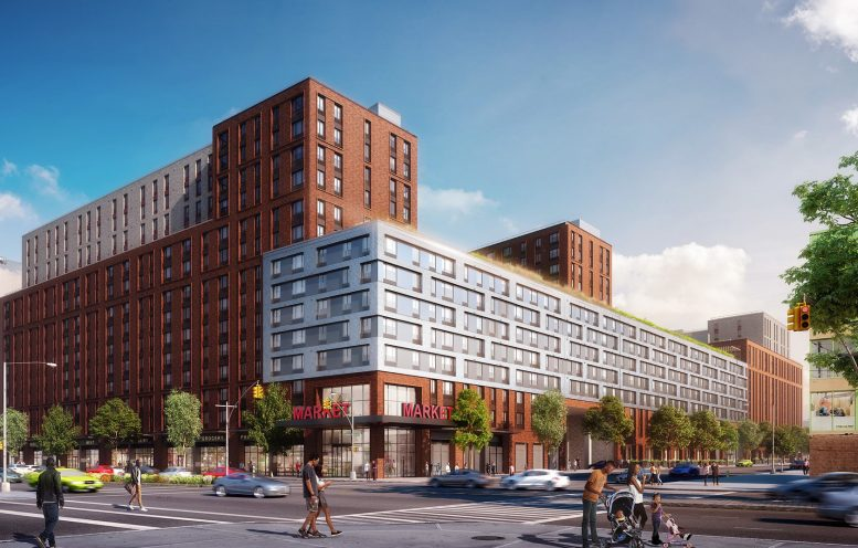 City Apartment Building nyc affordable housing - curbed ny