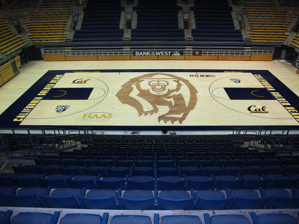 Haas Pavilion new Pete Newell Court
