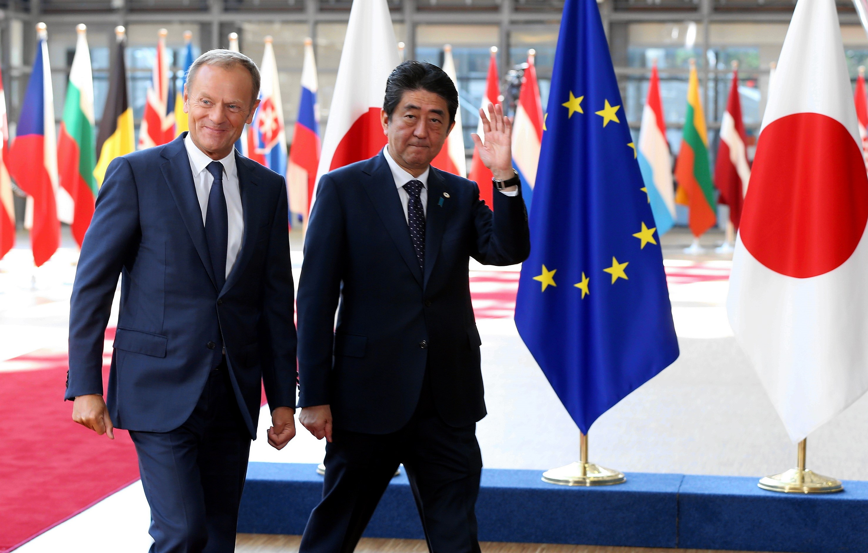 Japan and Europe's huge new trade agreement shows that US leadership is already fading