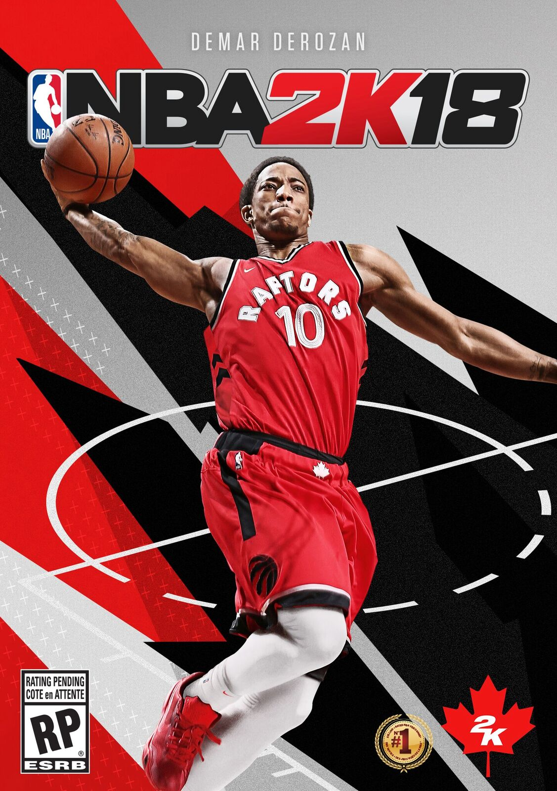 532295a13 DeMar DeRozan is the first athlete to ever be on  NBA 2K18  Canadian cover