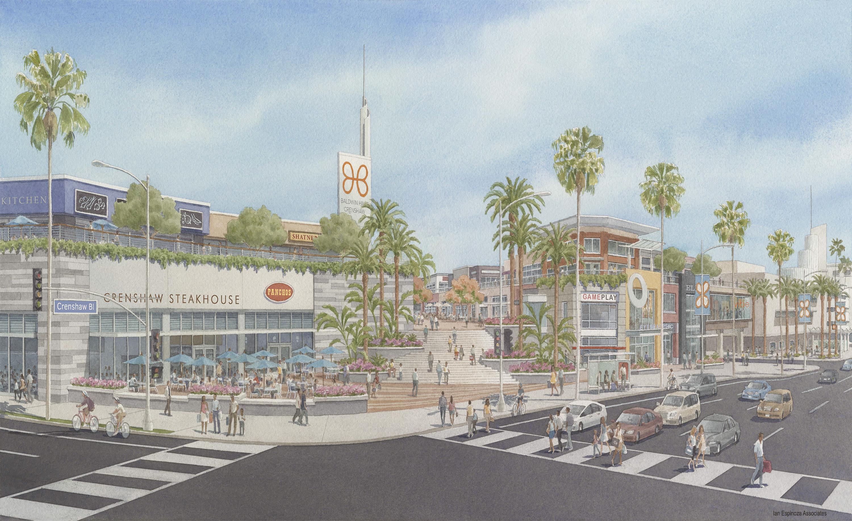 New renderings for Baldwin Hills Crenshaw Plaza\'s big redevelopment ...