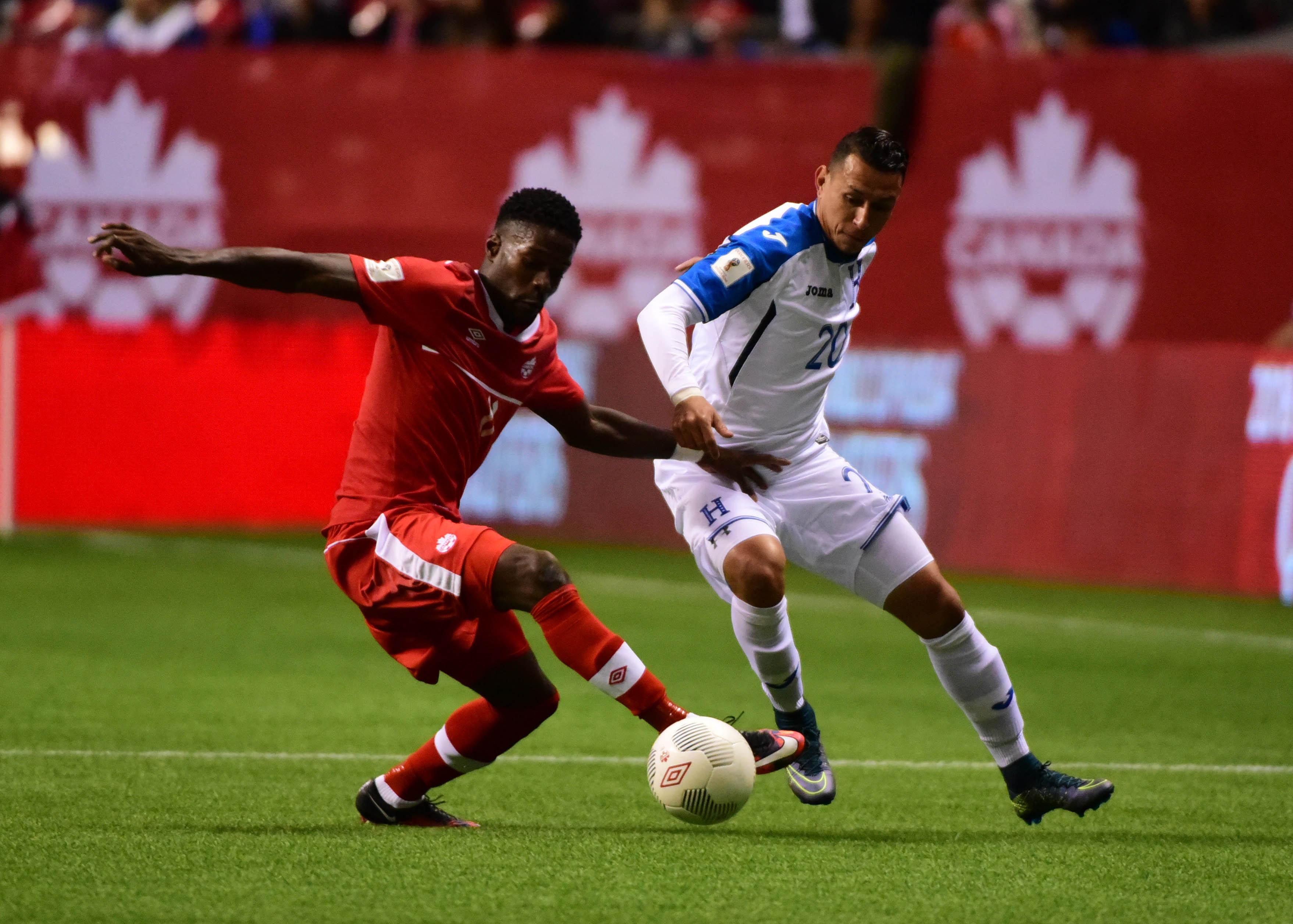 Soccer: FIFA World Cup Qualifier-Honduras at Canada