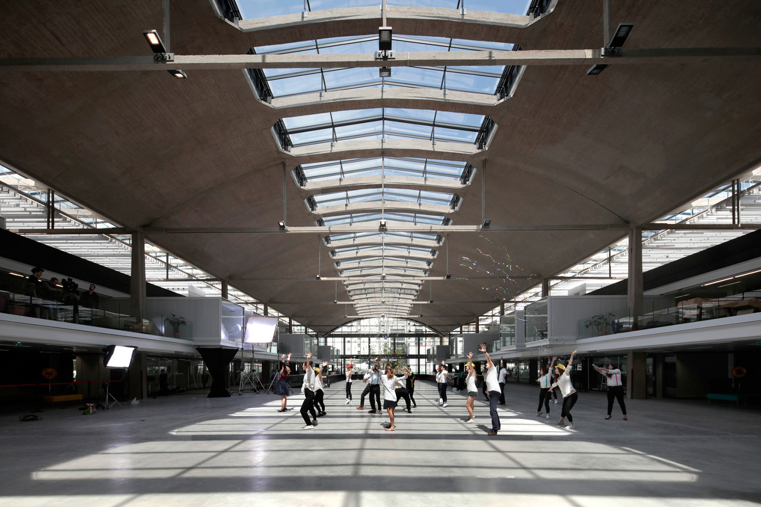 freight station becomes startup campus in Paris