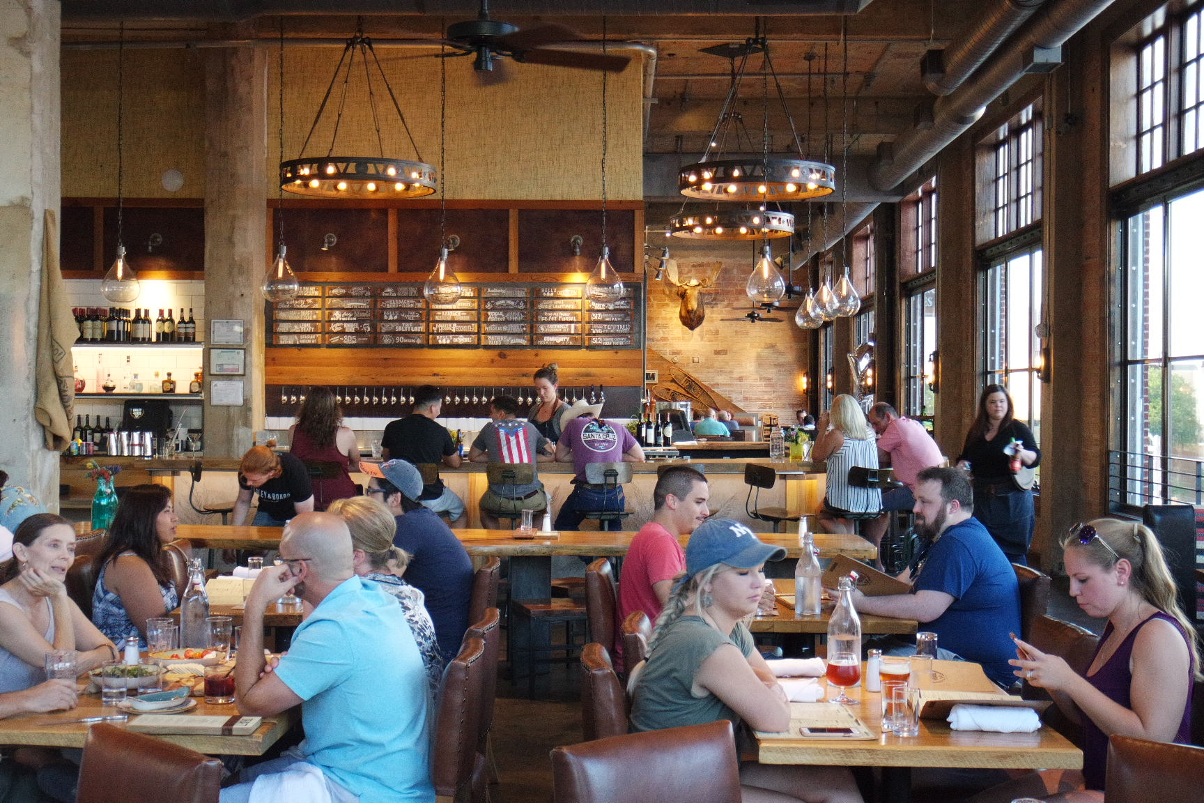 Drink and dine at Barley & Board