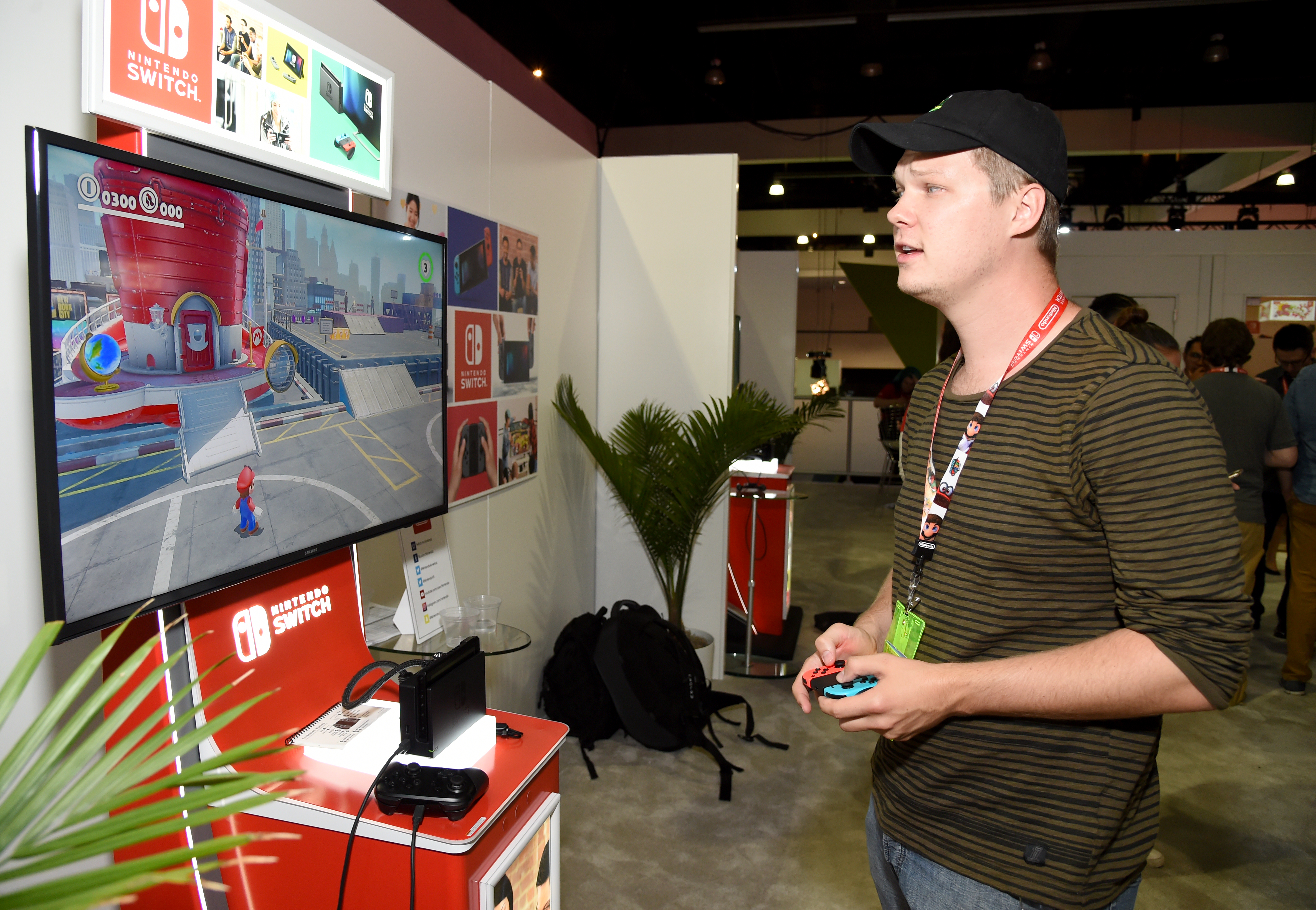 Nintendo Hosts Celebrities At 2017 E3 Gaming Convention