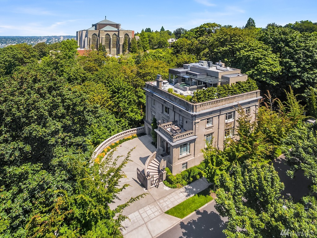 One Year Later, $15M Sam Hill Mansion Still Seattleu0027s Most Expensive Listing