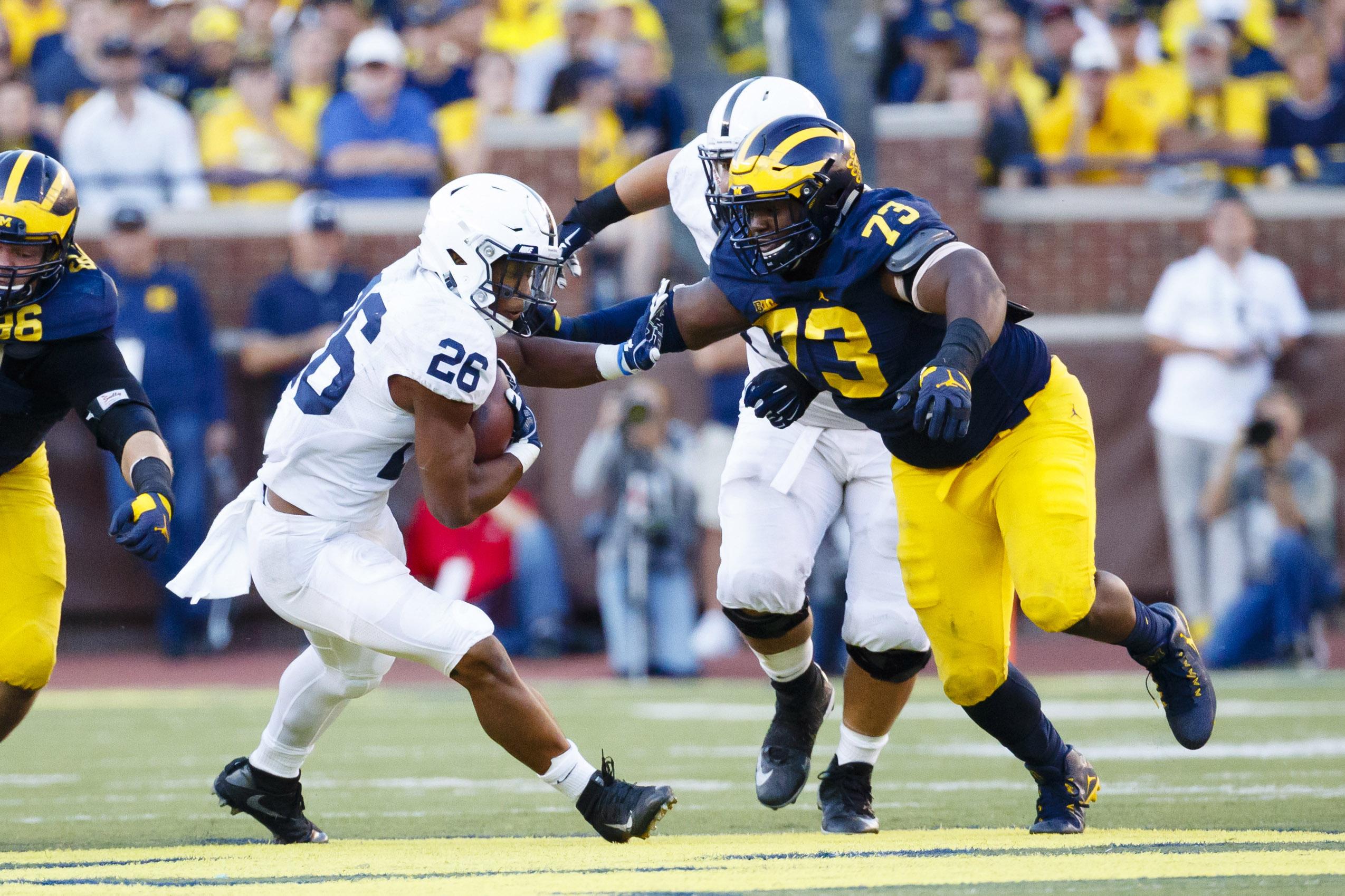 NCAA Football: Penn State at Michigan