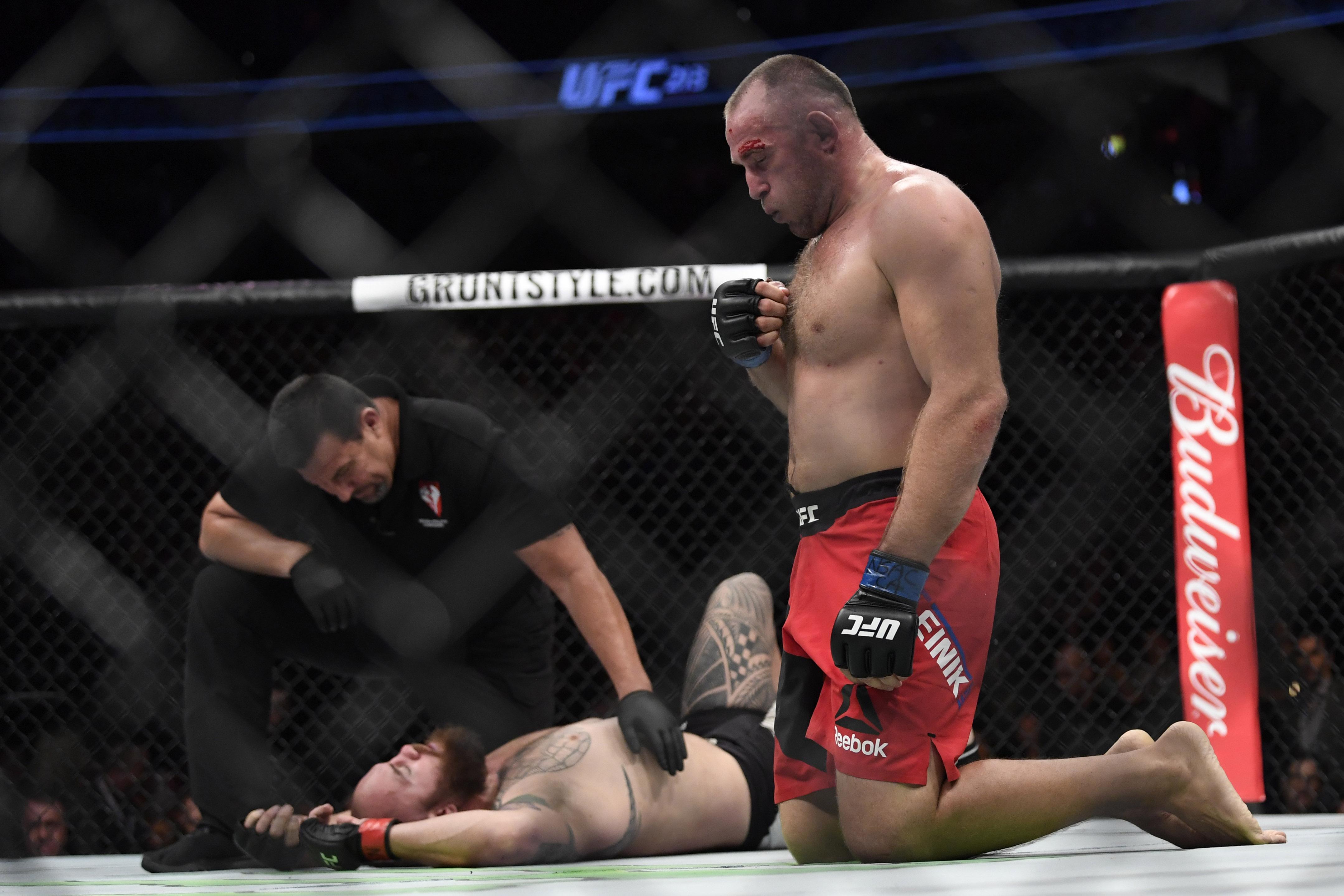 MMA: UFC 213-Browne vs Oleinik