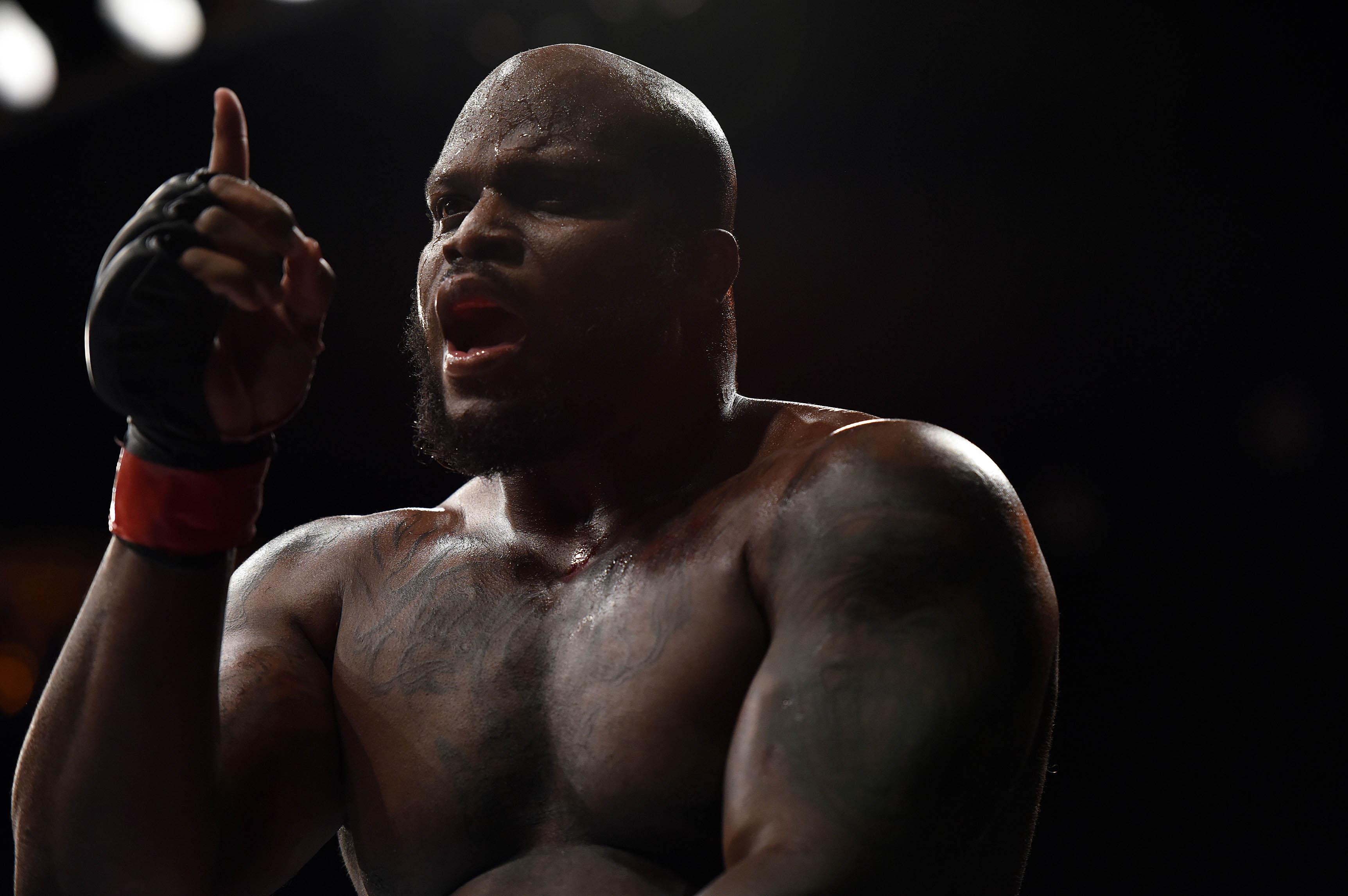 MMA: UFC Fight Night-Lewis vs Gonzaga