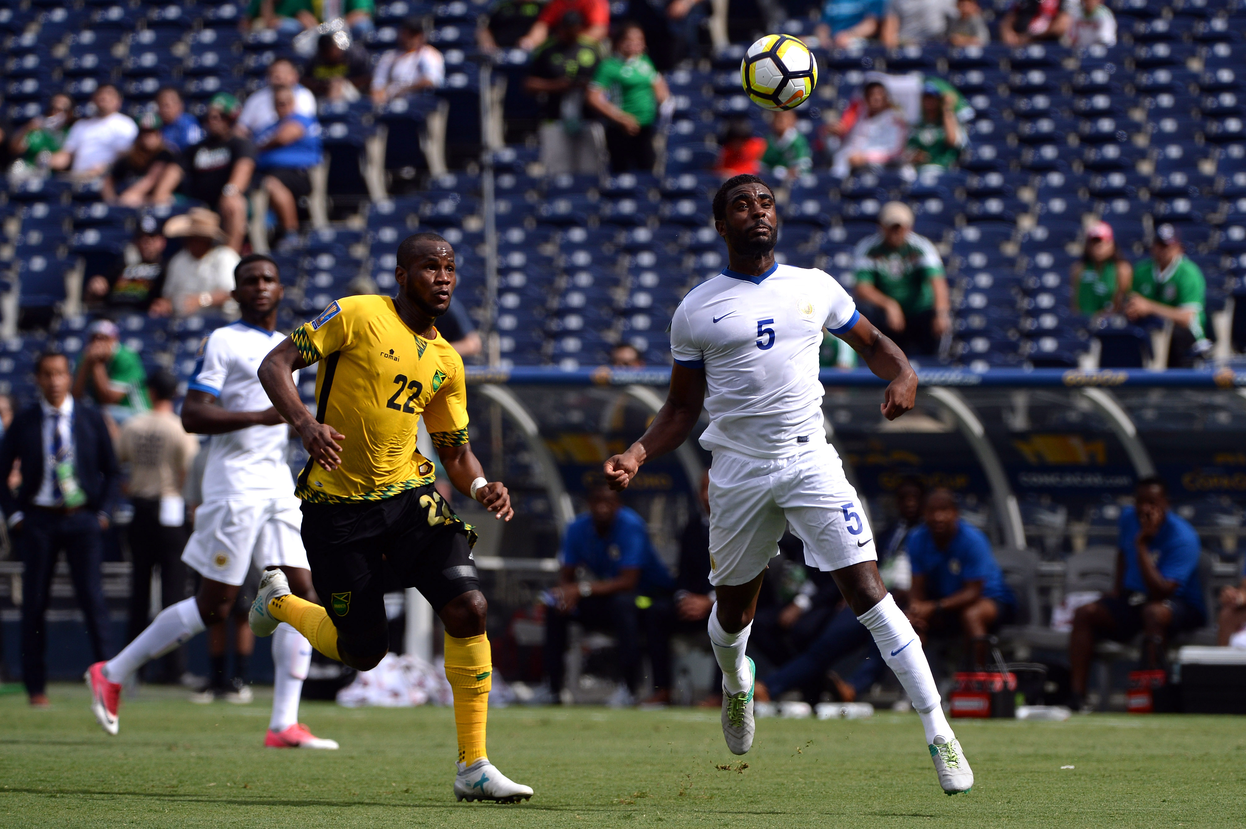 Soccer: 2017 CONCACAF Gold Cup-Curacao at Jamaica