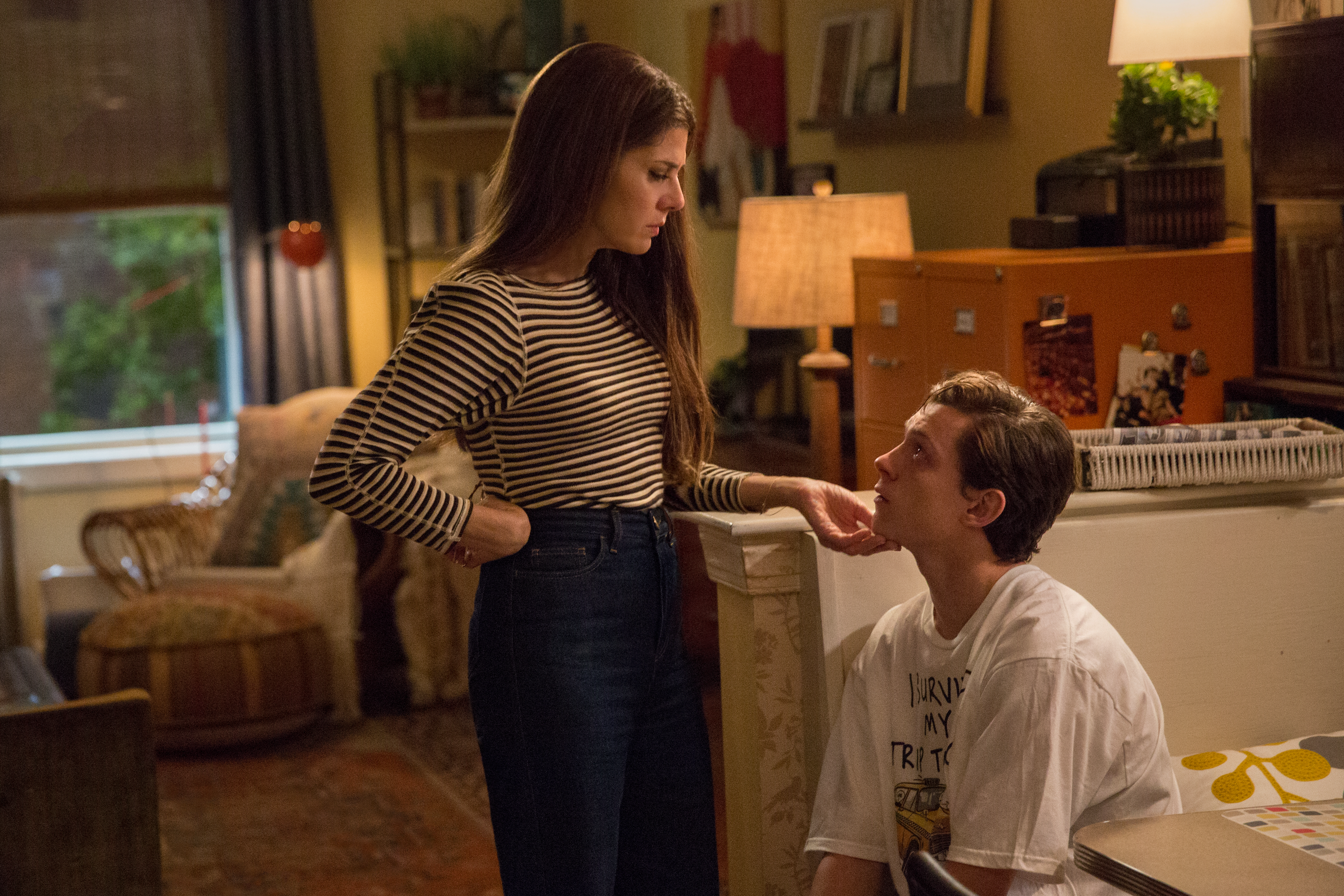 Pay Attention to the Slogan Tees in Spider-Man: Homecoming