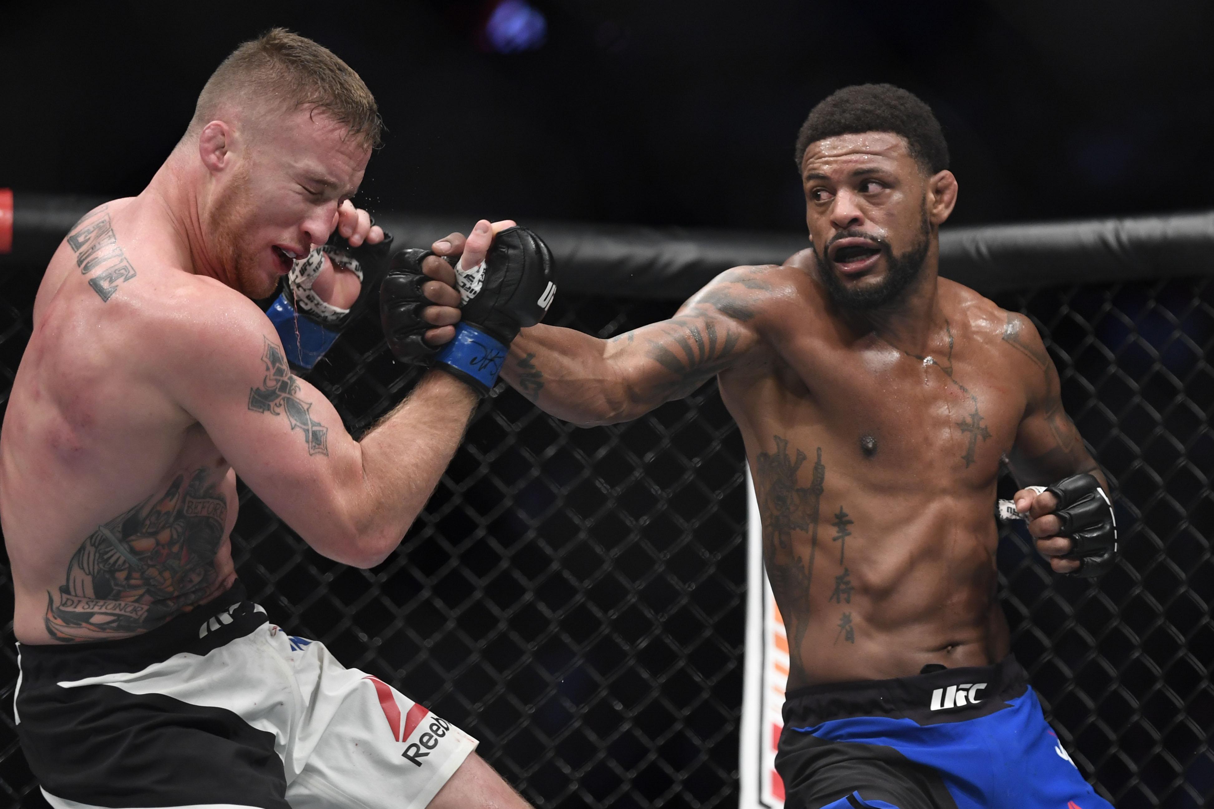 MMA: The Ultimate Fighter-Johnson vs Gaethje