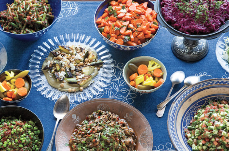 A selection of dishes available at the Ode to Israeli Cuisine pop-up