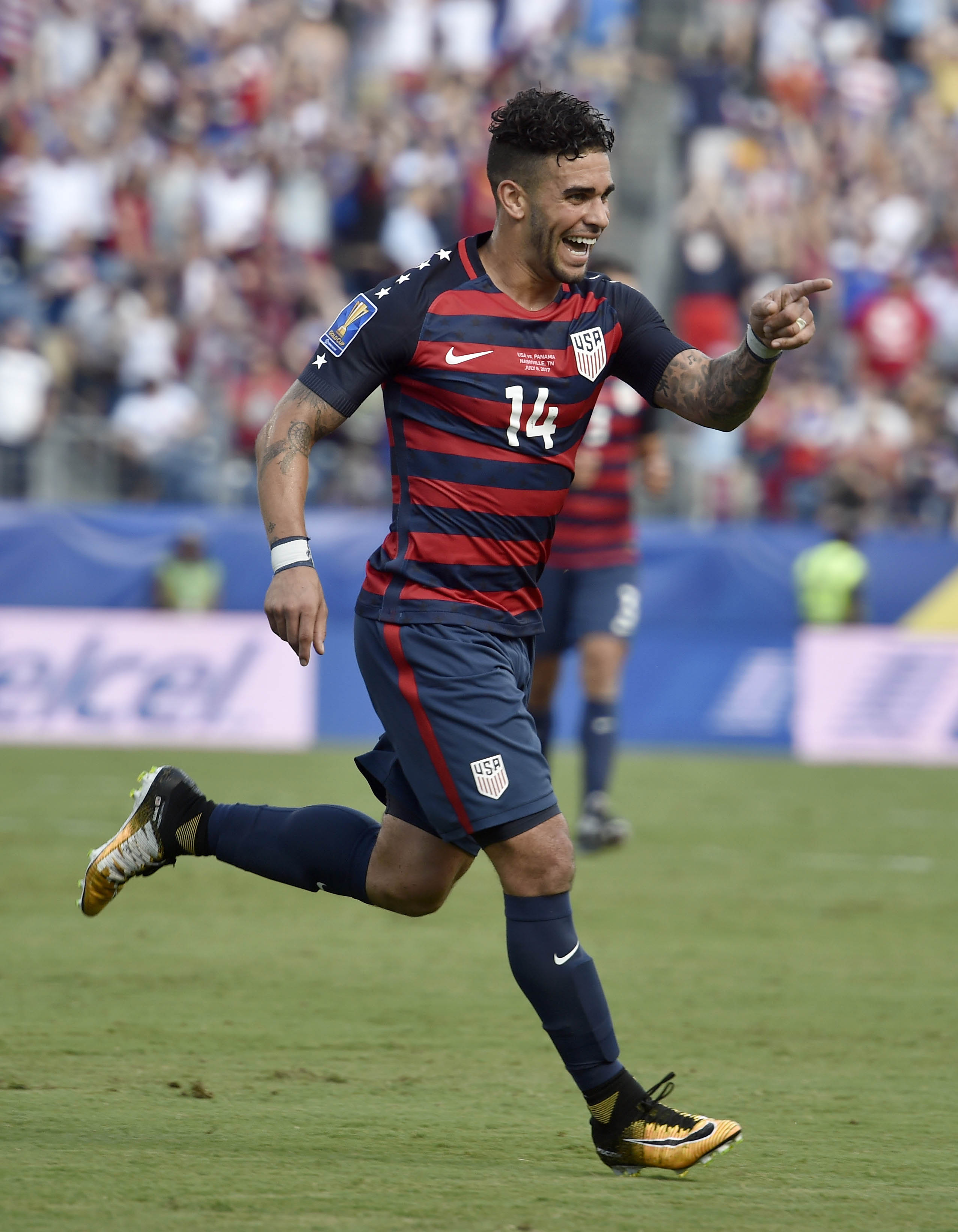 Soccer: 2017 CONCACAF Gold Cup-USA  at Panama