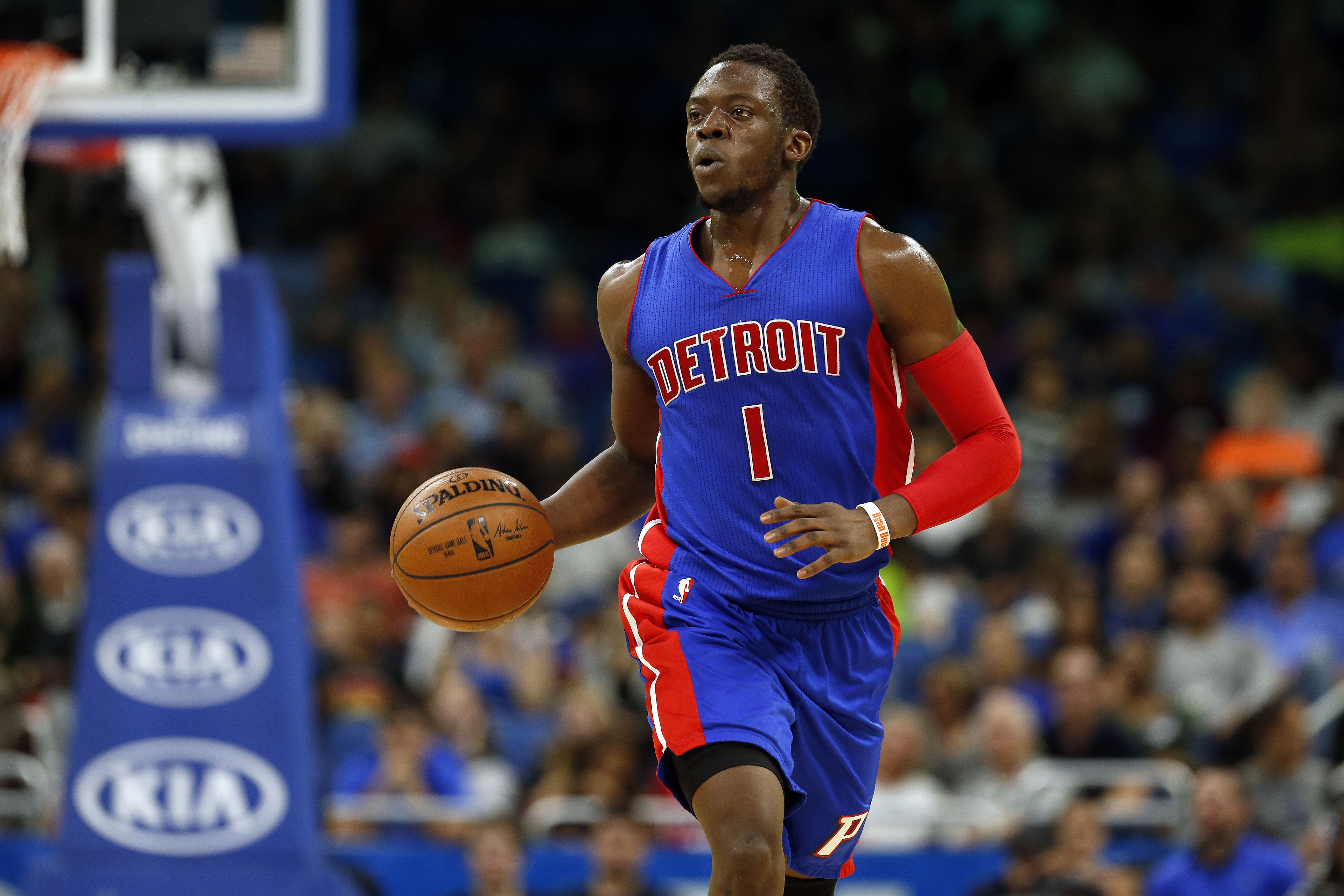 NBA: Detroit Pistons at Orlando Magic