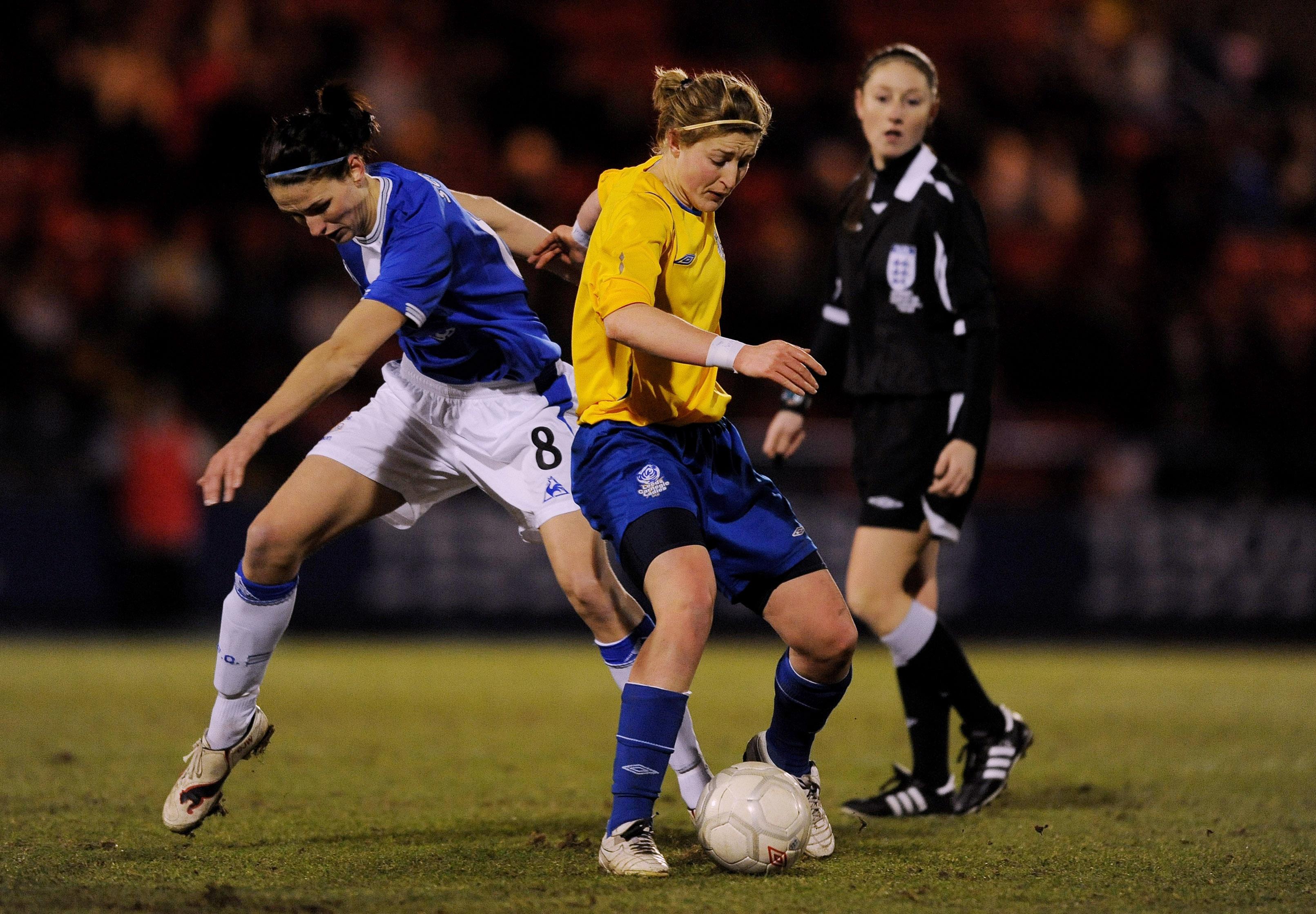 Everton v Leeds Carnegie - The FA Tesco Women�s Premier League Cup Final