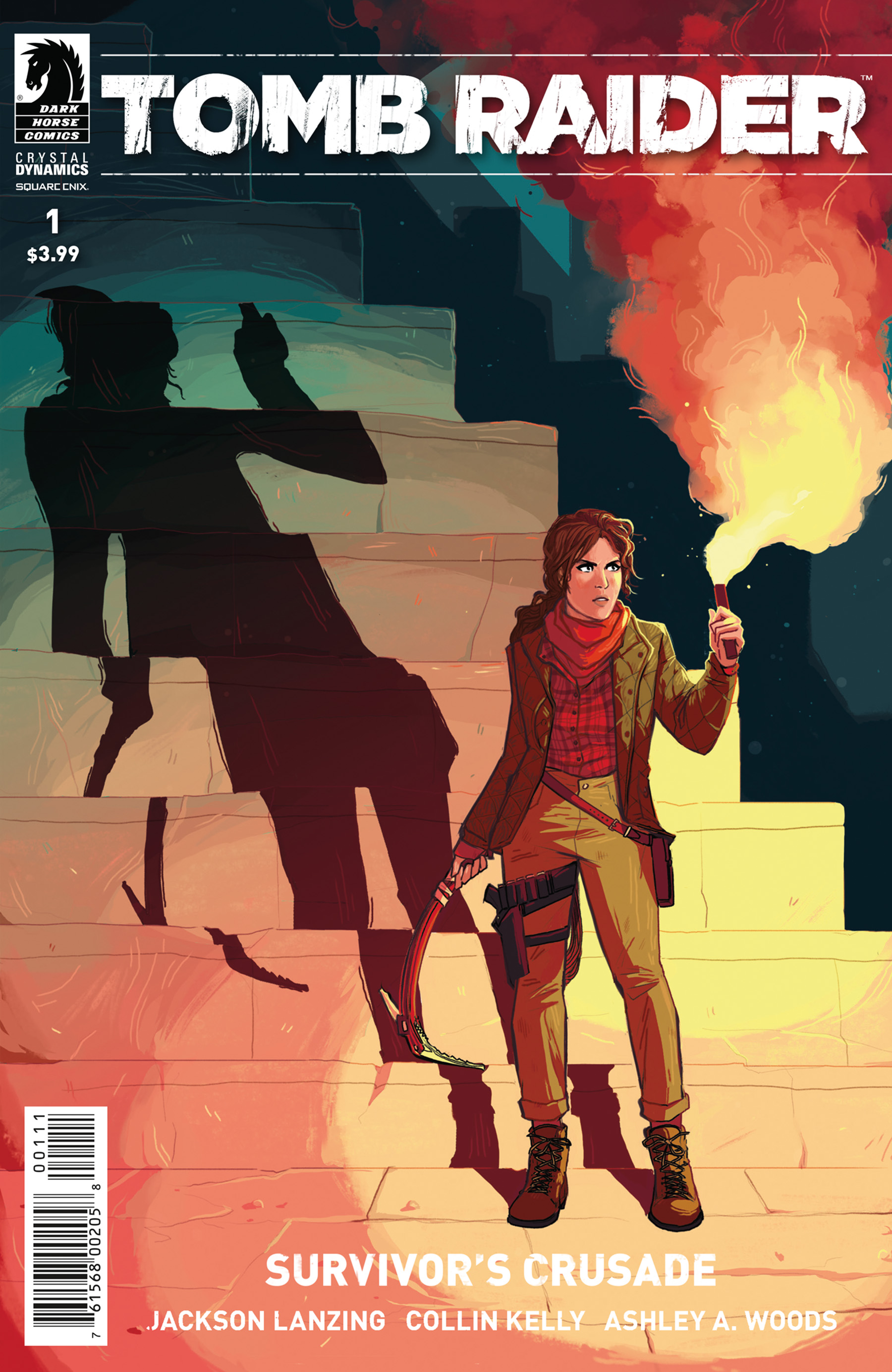 Lara Croft returns to comics with Tomb Raider: Survivor's Crusade