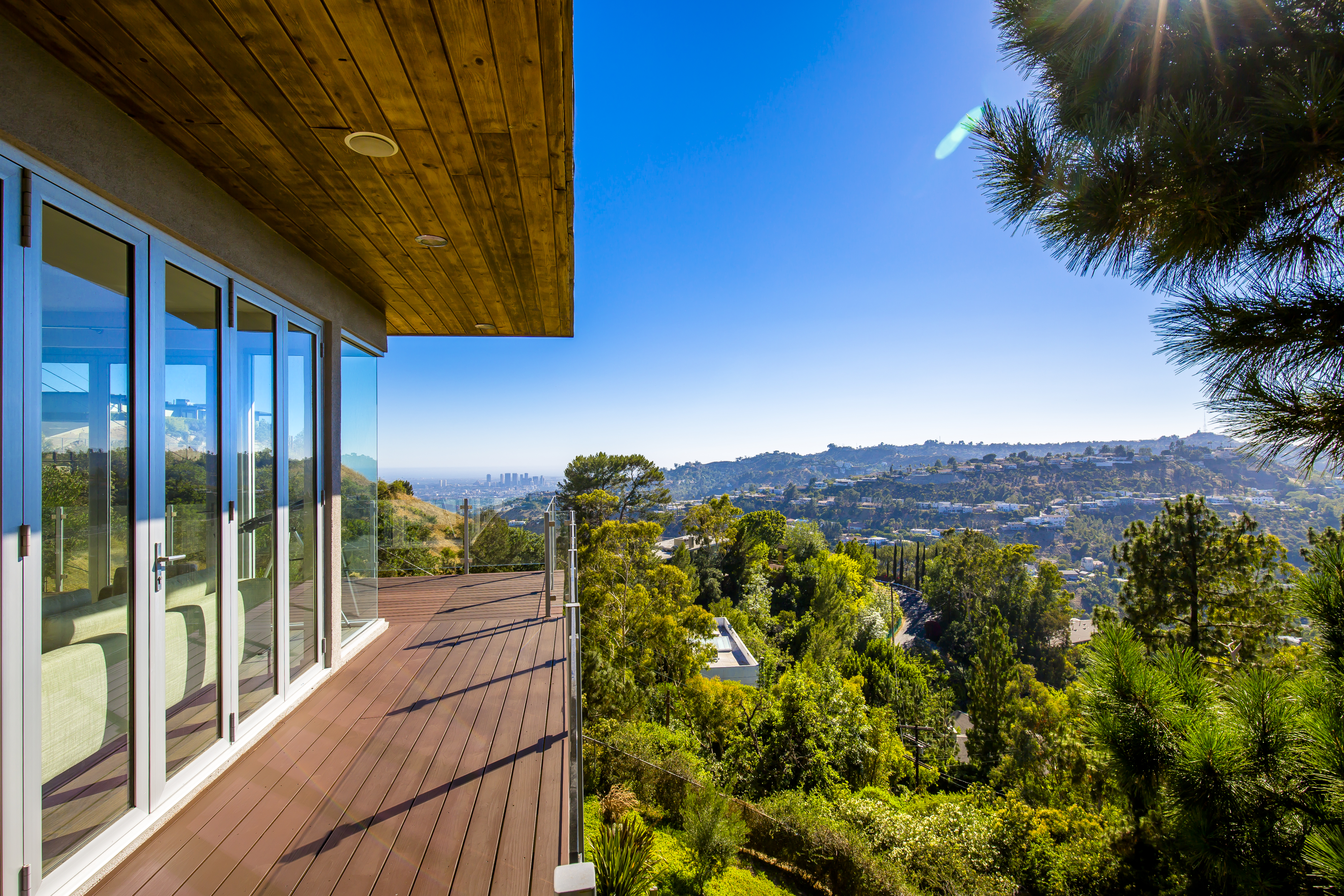 Revamped Hollywood Hills Modern With Views Asks 2 75m