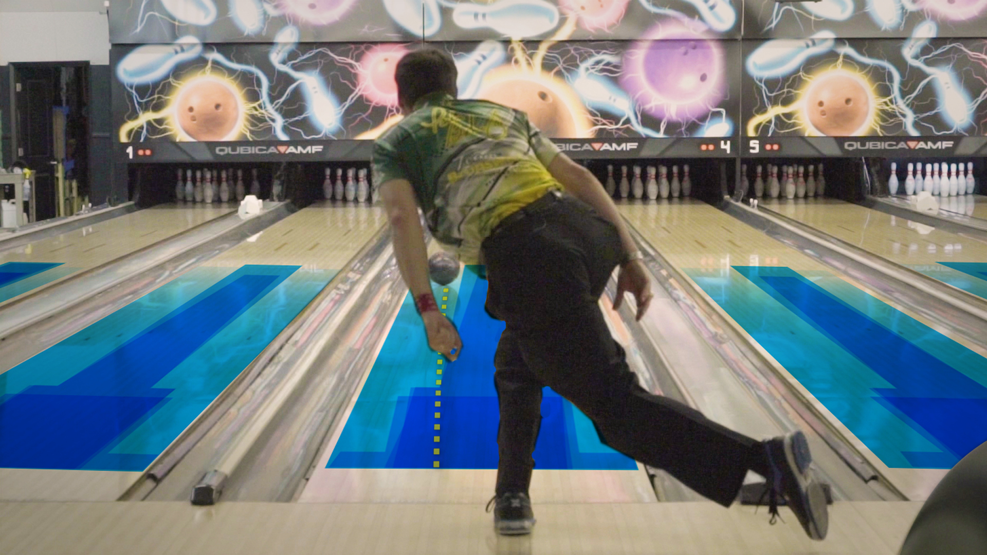 The Hidden Oil Patterns On Bowling Lanes Vox