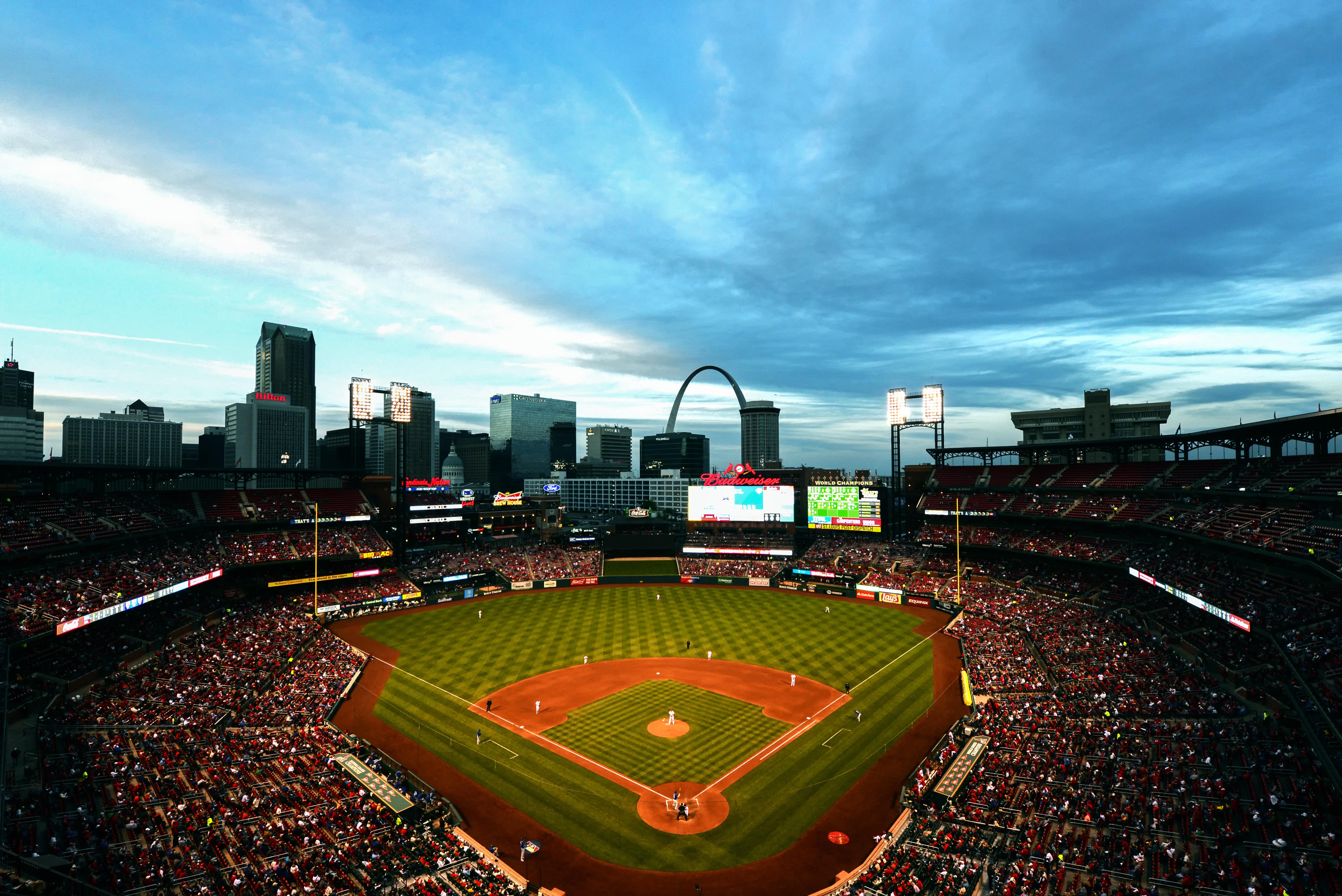 MLB: Game Two-Toronto Blue Jays at St. Louis Cardinals