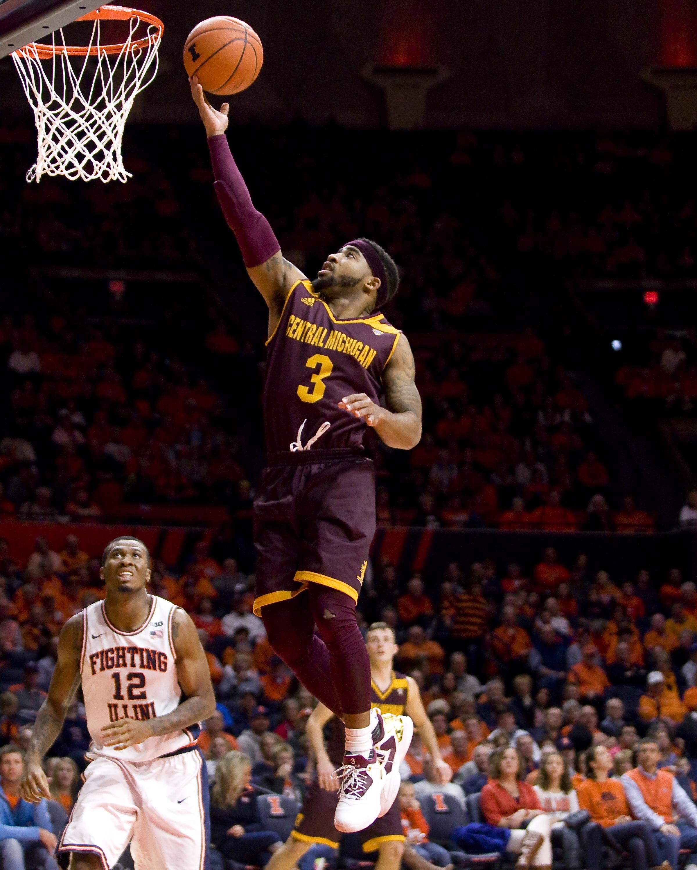 NCAA Basketball: Central Michigan at Illinois