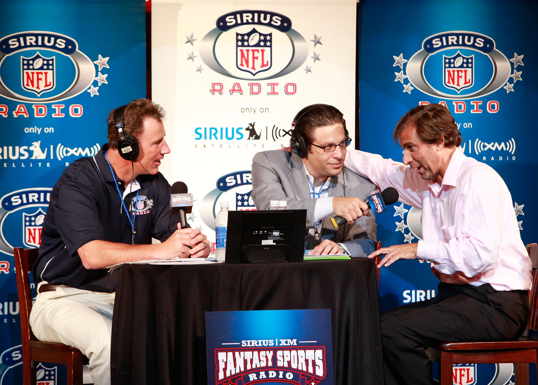 SIRIUS XM Radio Celebrity Fantasy Football Draft-Times Square
