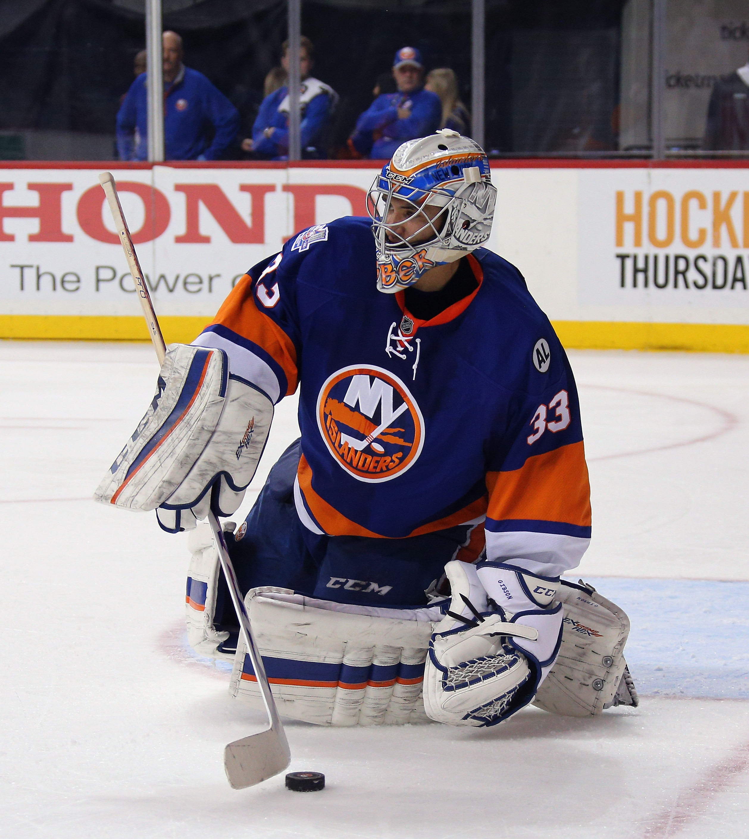 Islanders Contract News  Christopher Gibson re-signs 0287f06ce4c