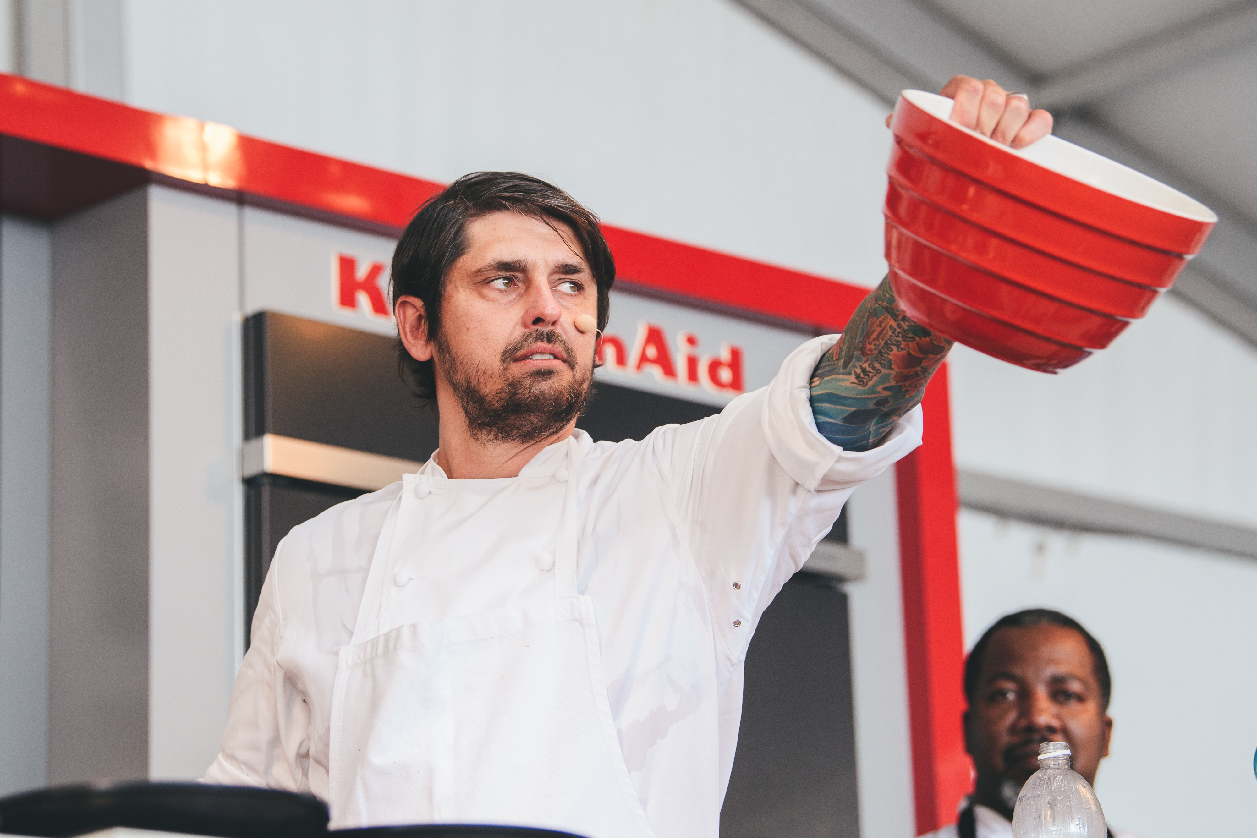 Ludo Lefevbre at Austin Food and Wine Festival earlier this year