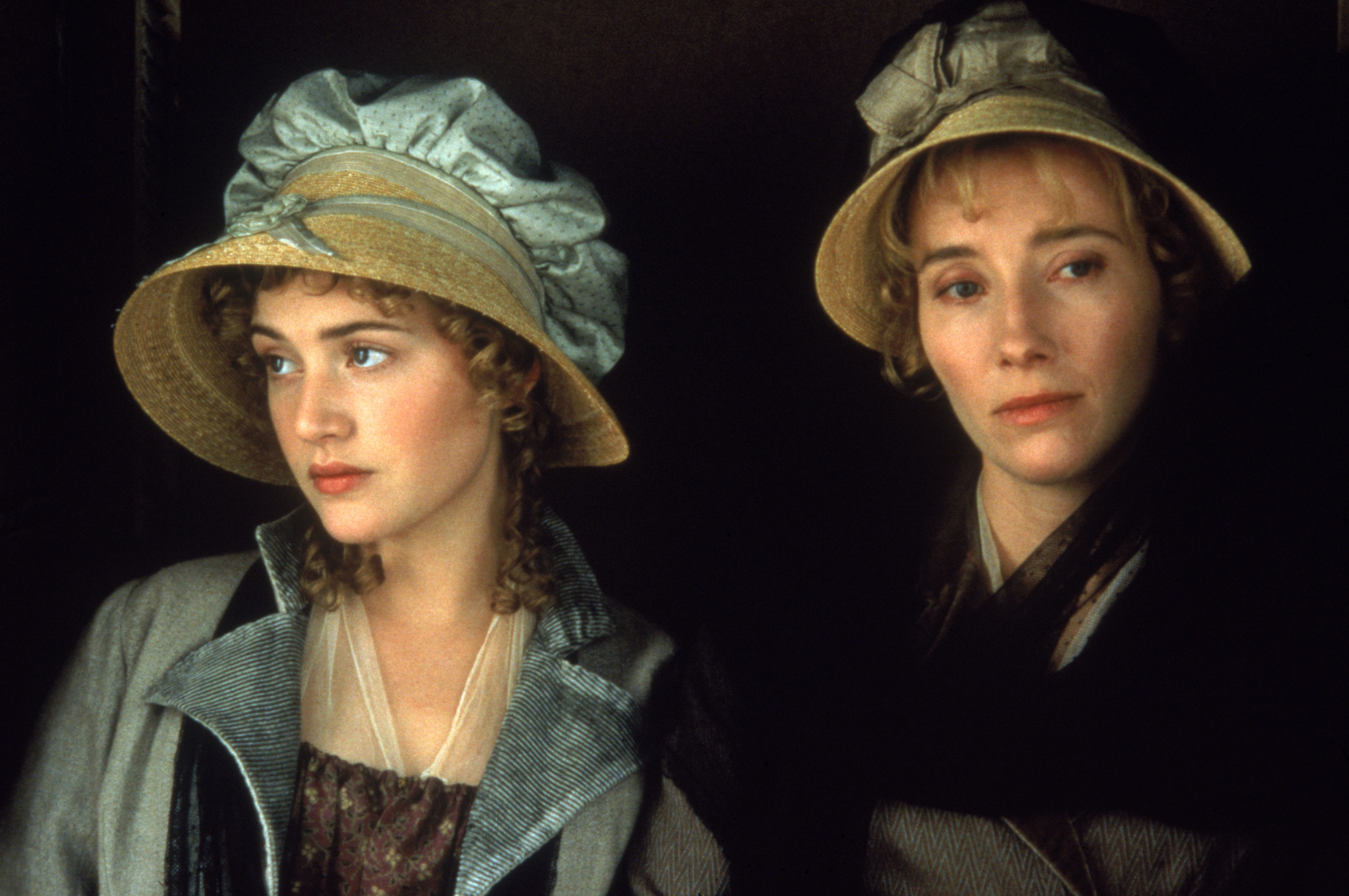 Kate Winslet and Emma Thompson in Sense and Sensibility
