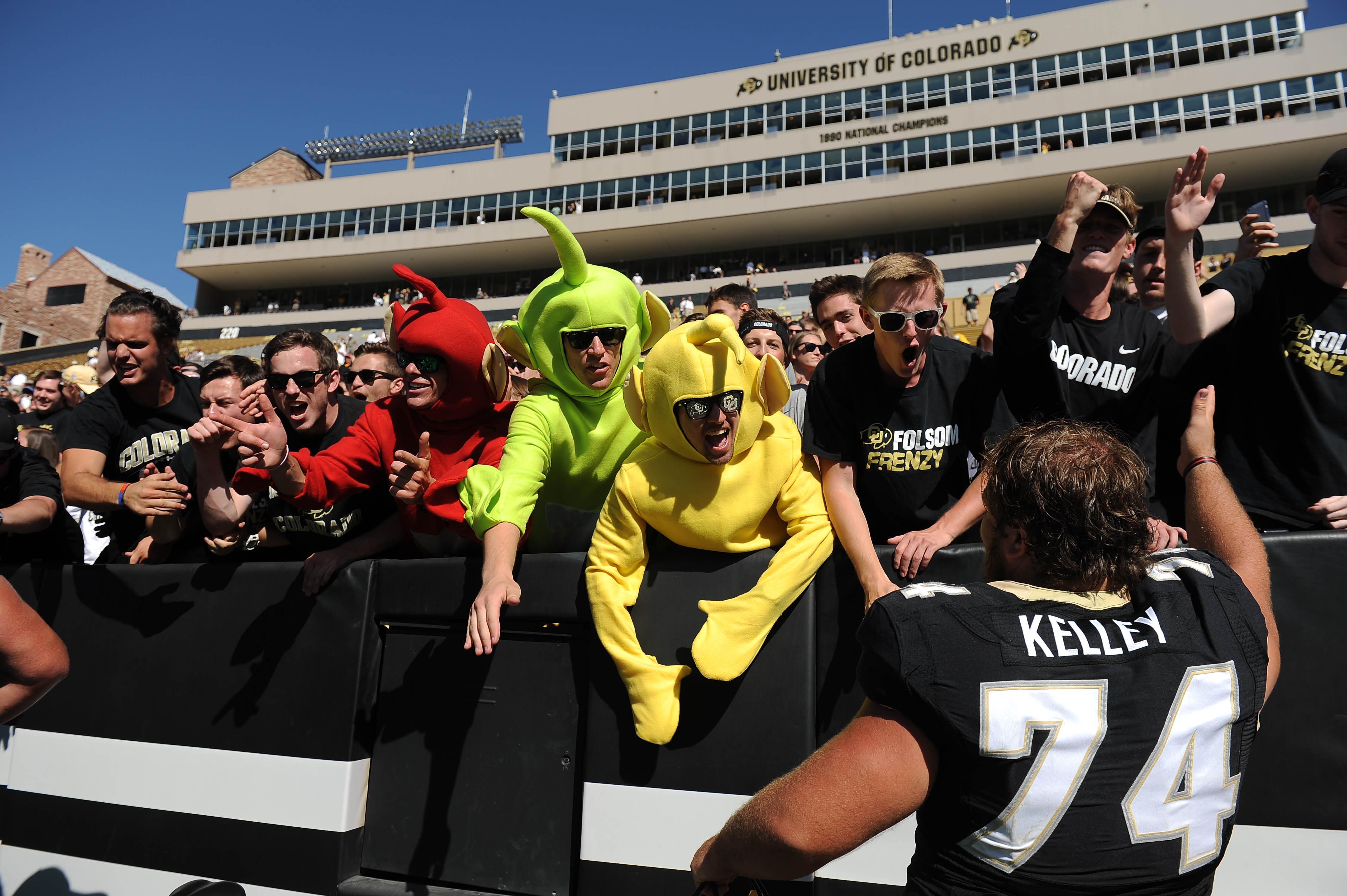 NCAA Football: Massachusetts at Colorado