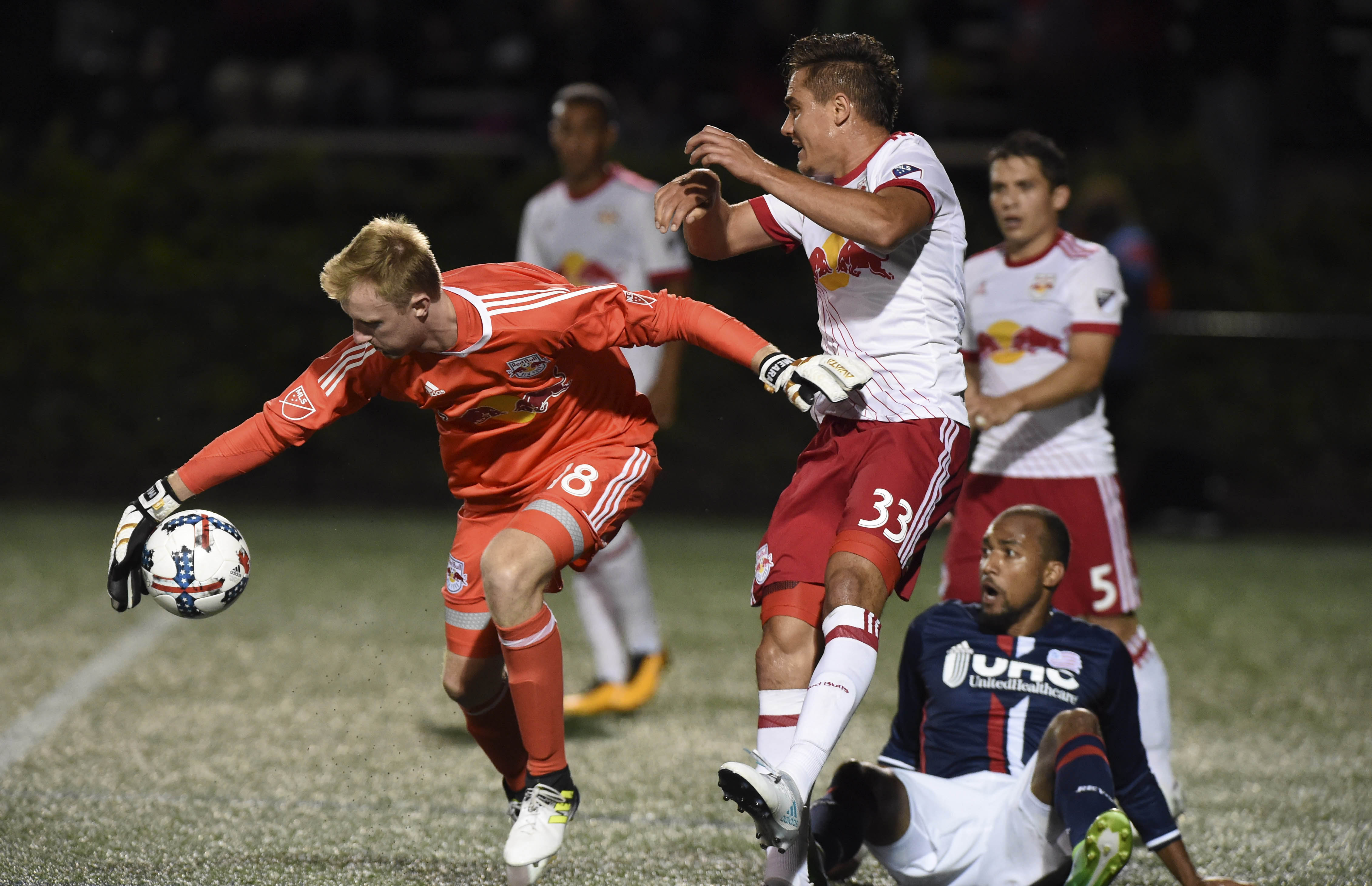 MLS: U.S. Open Cup-New York Red Bulls at New England Revolution