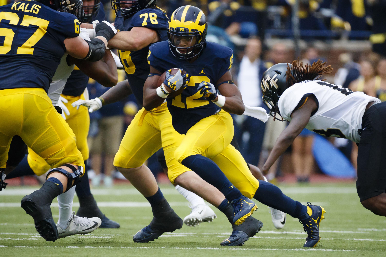 NCAA Football: Central Florida at Michigan