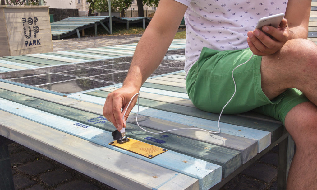 This modular solar panel system can be embedded just about anywhere