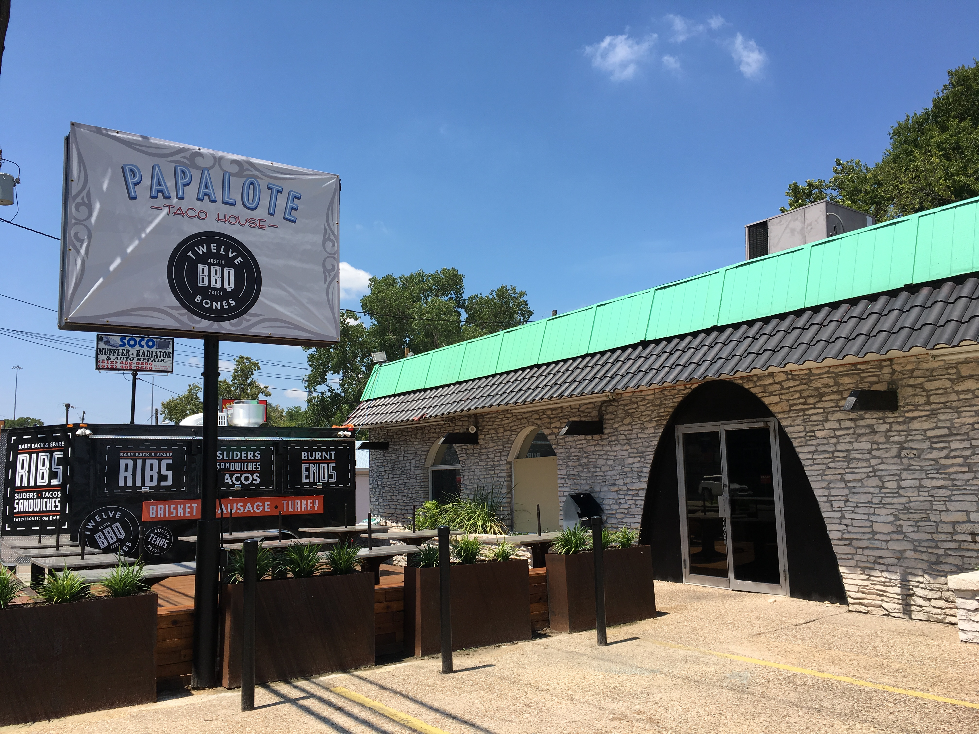 Papalote's third home on South Congress