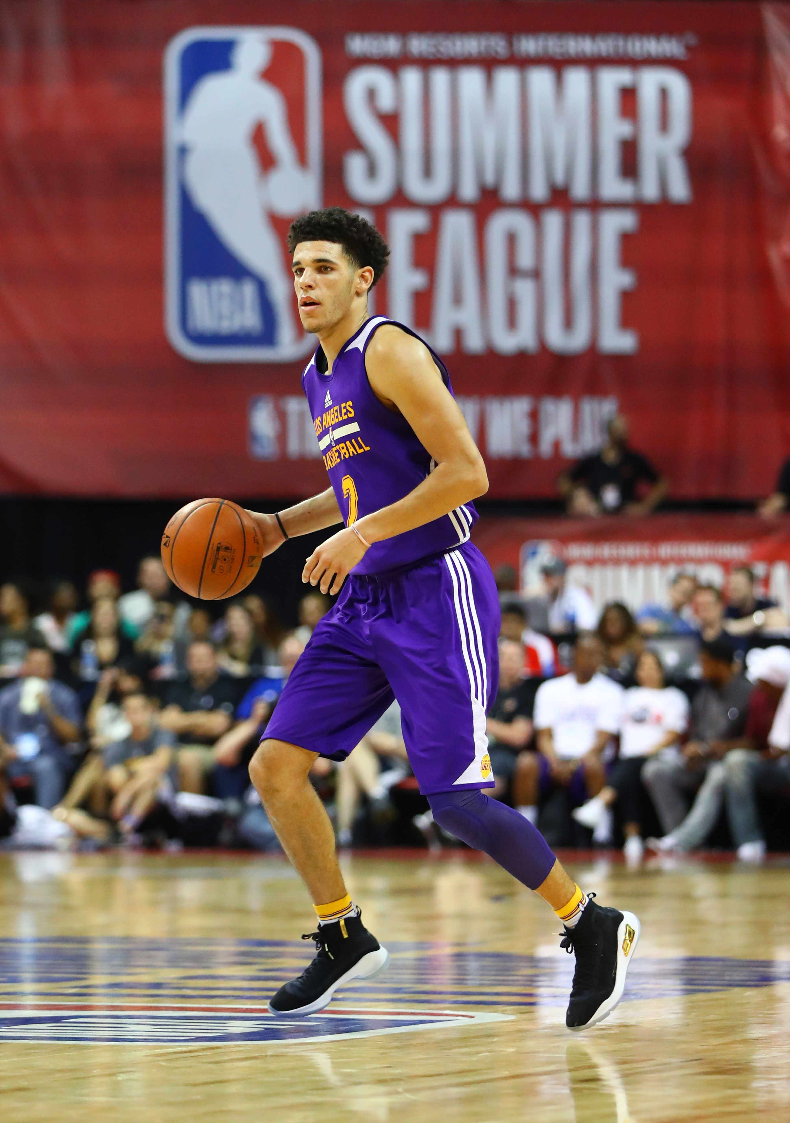 NBA: Summer League-Brooklyn Nets at Los Angeles Lakers