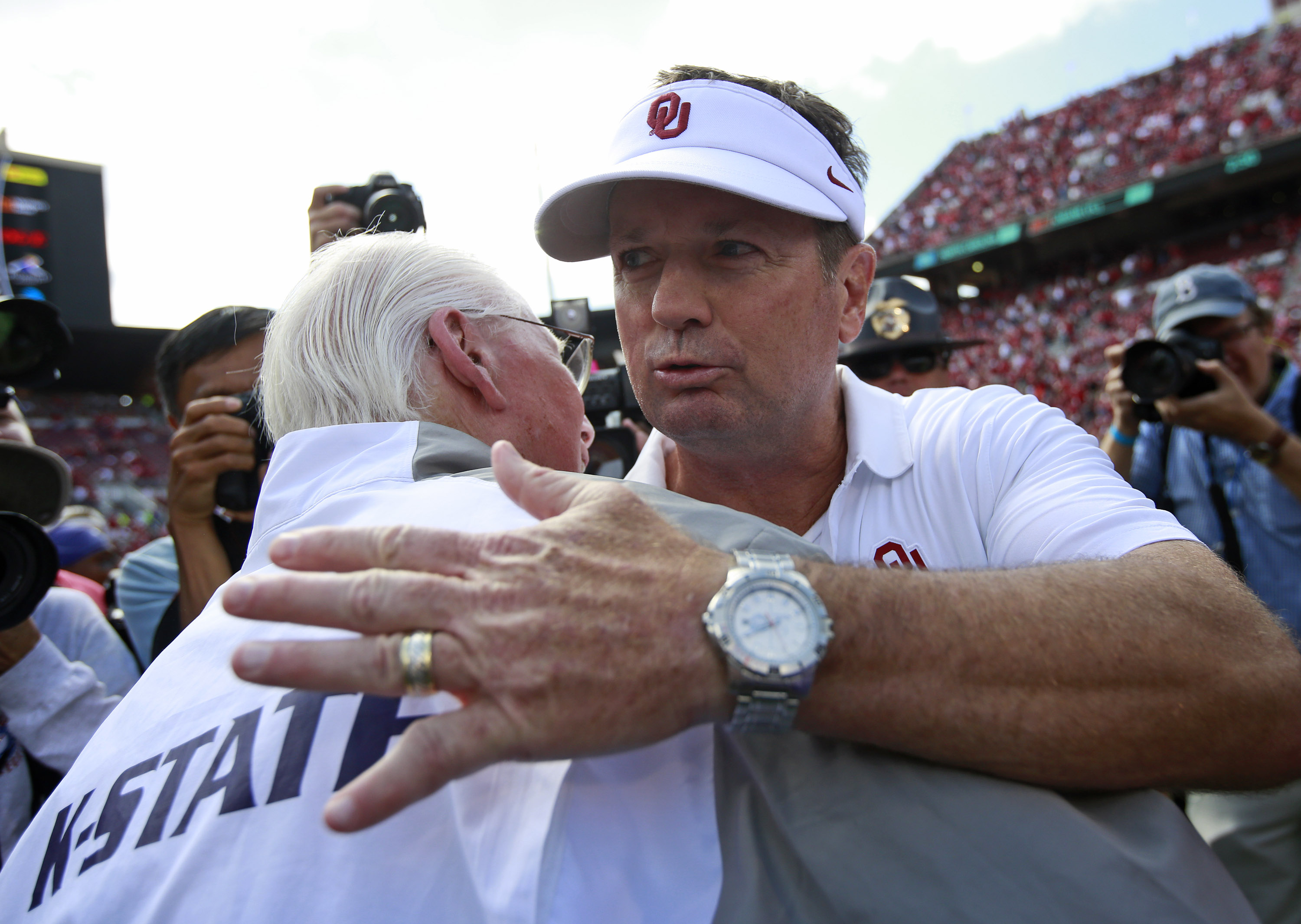 Who knew this would be the last time this would happen? Who knew Snyder would outlast Stoops?!
