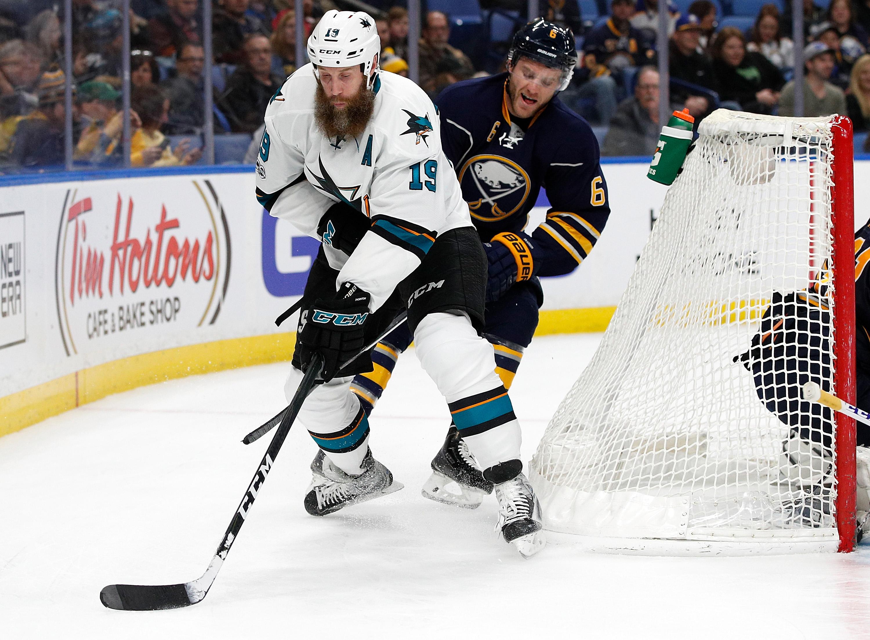 NHL: San Jose Sharks at Buffalo Sabres