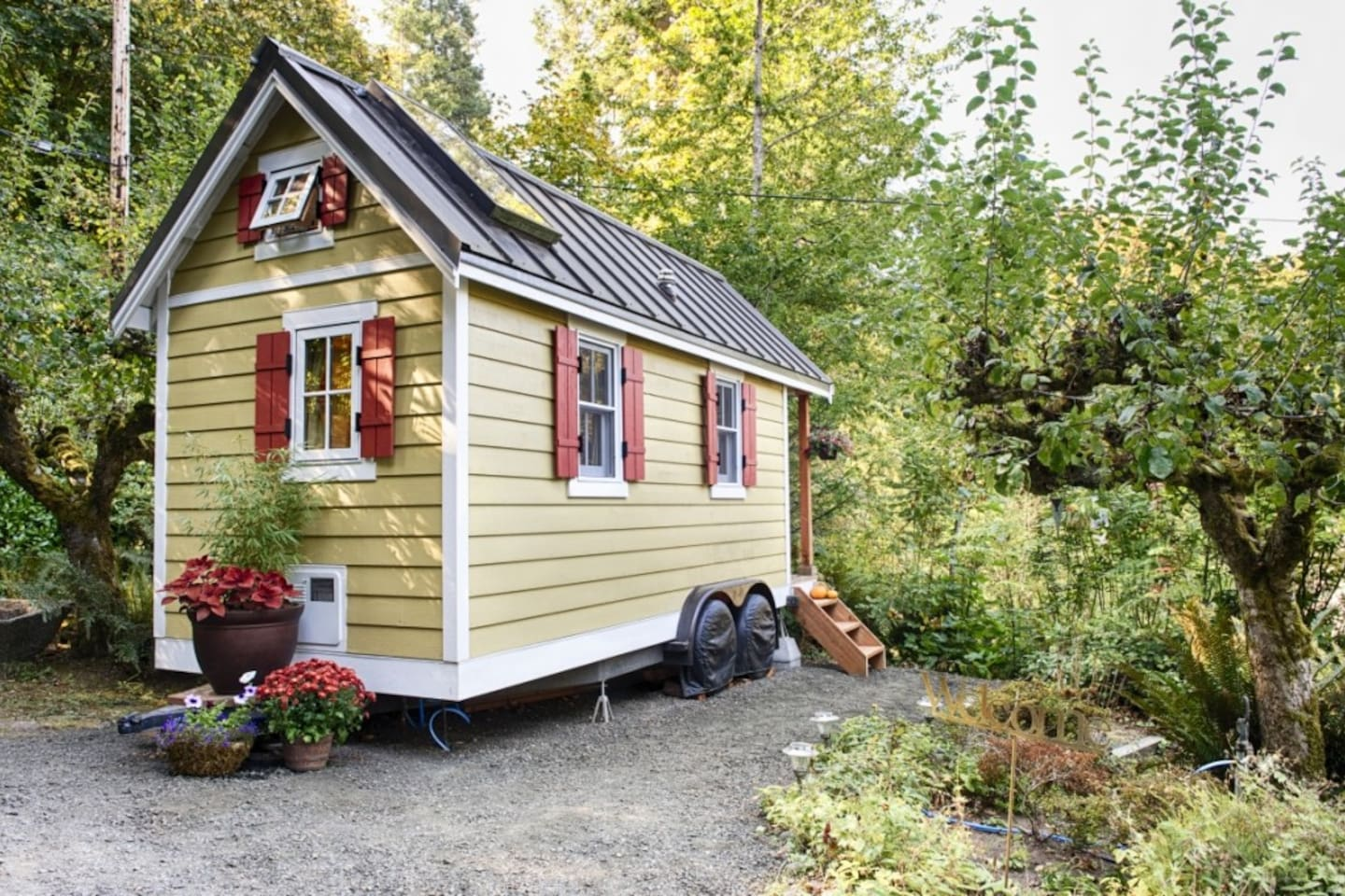 Seattles Coolest Short Term Tiny House Rentals