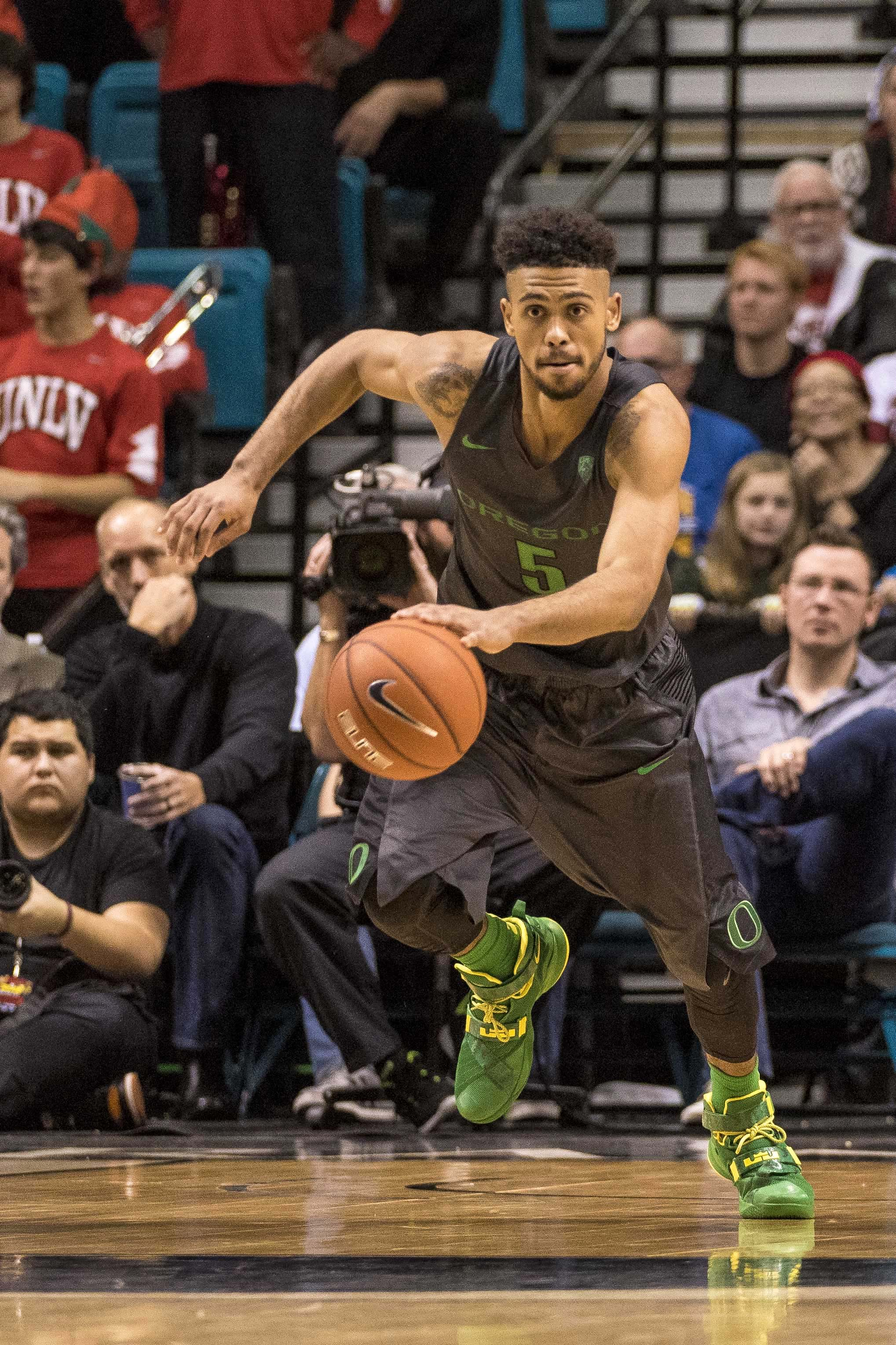 NCAA Basketball: Oregon at UNLV