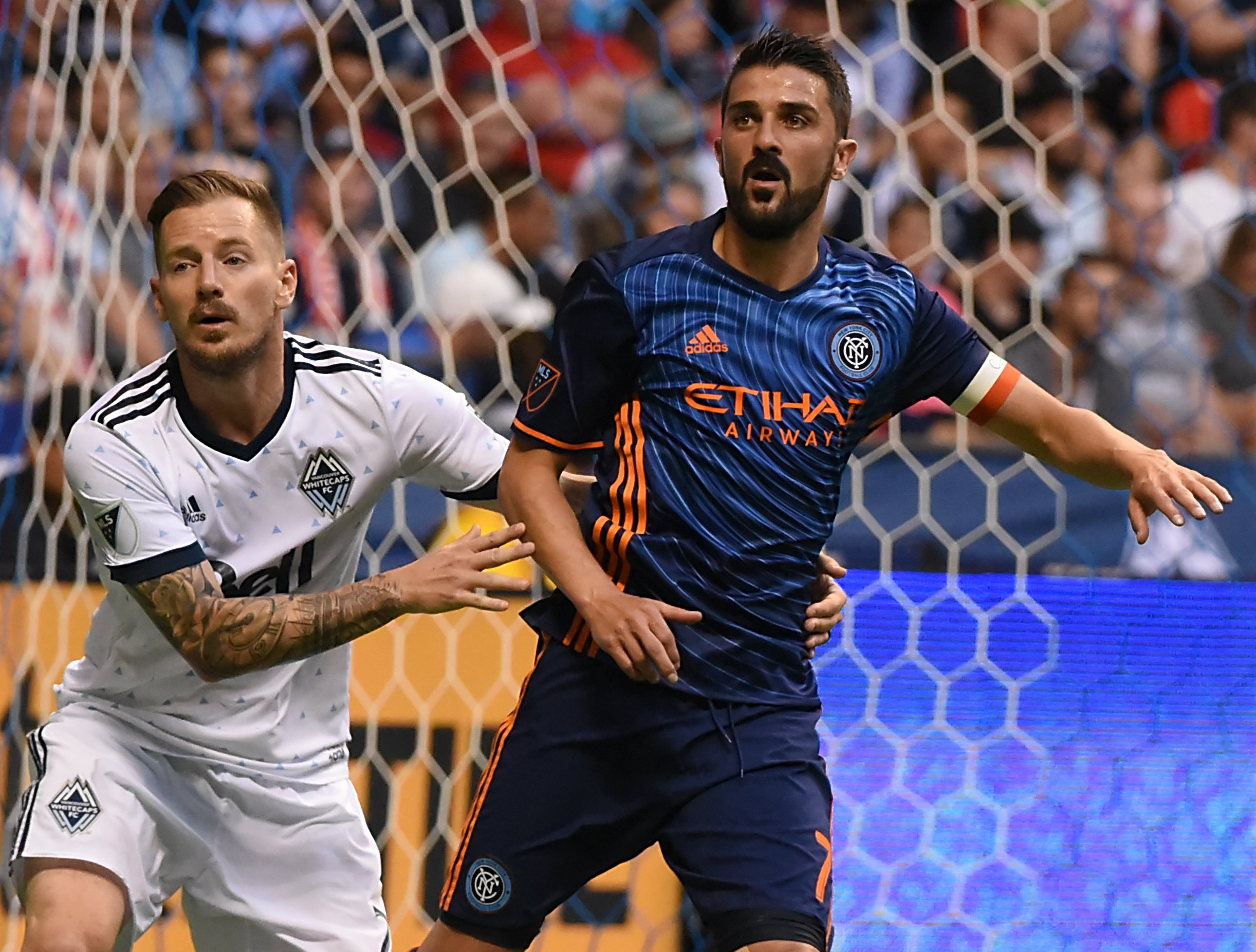 MLS: New York City FC at Vancouver Whitecaps FC