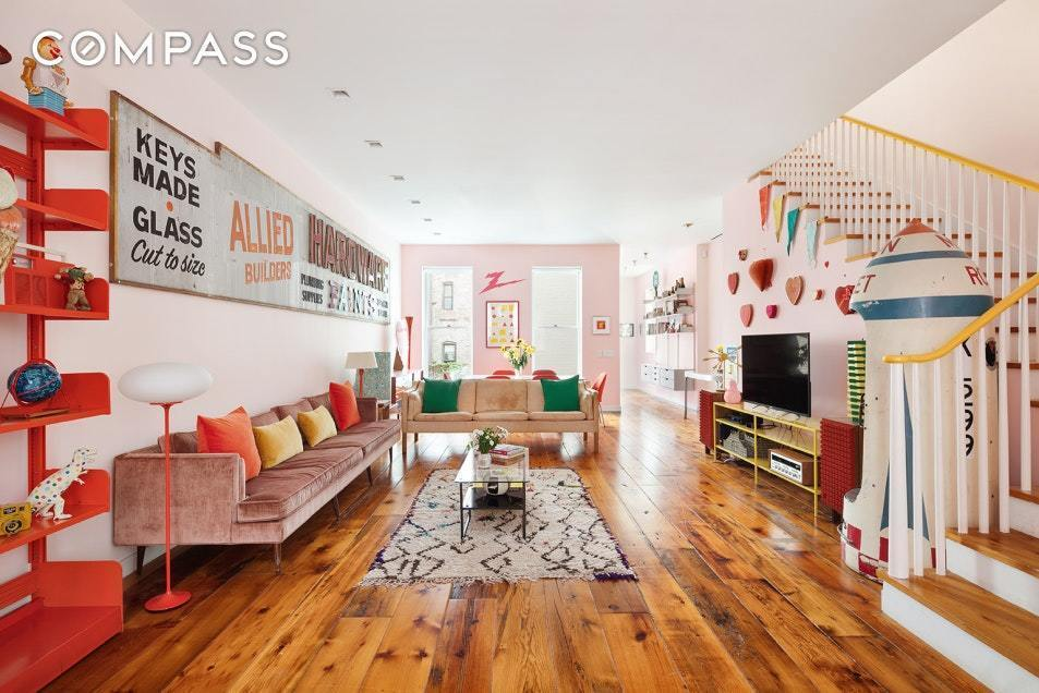 This colorful East Village townhouse got a dreamy starchitect redesign