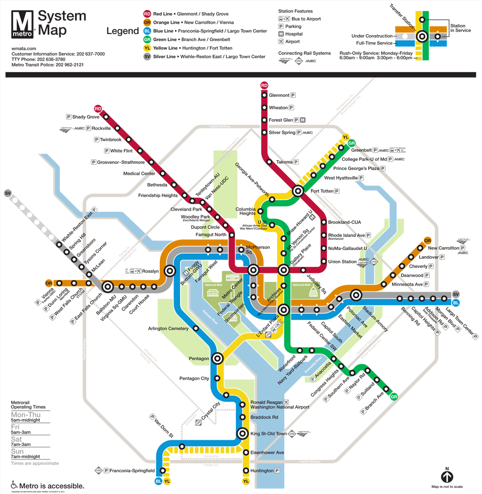 Archives Curbed DC - Washington dc ferry map