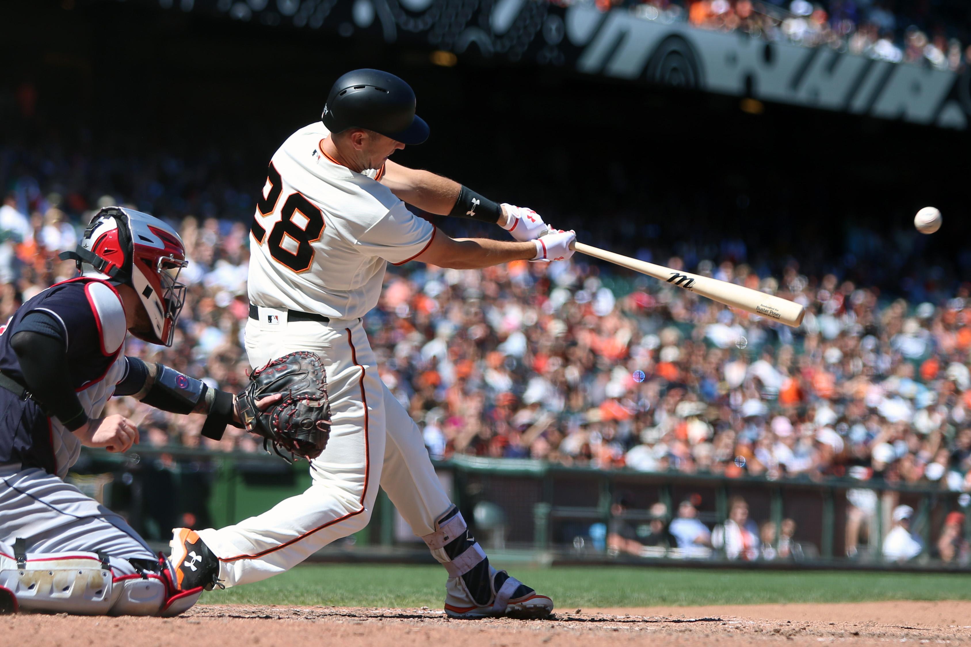 MLB: Cleveland Indians at San Francisco Giants
