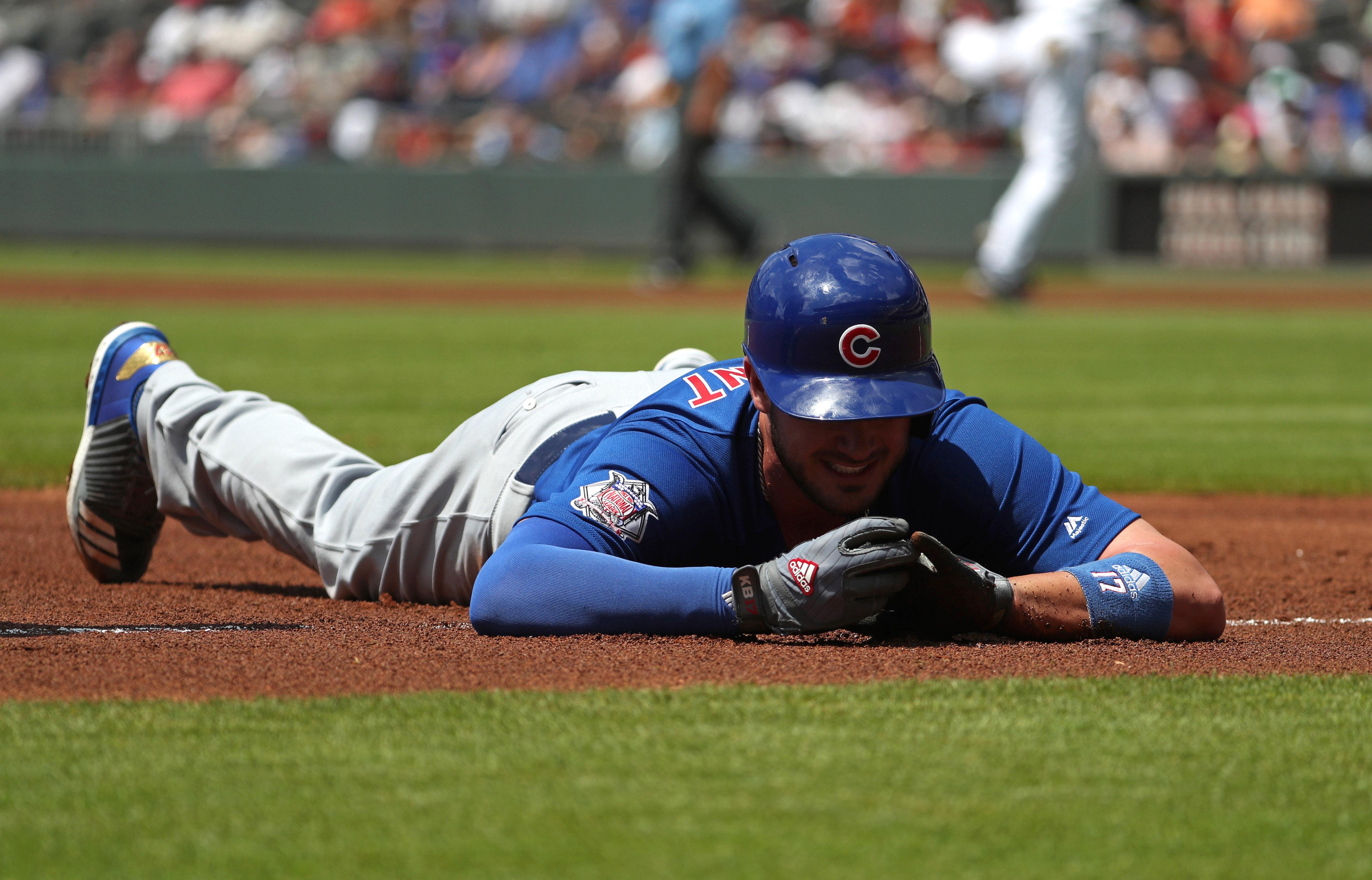 MLB: Chicago Cubs at Atlanta Braves